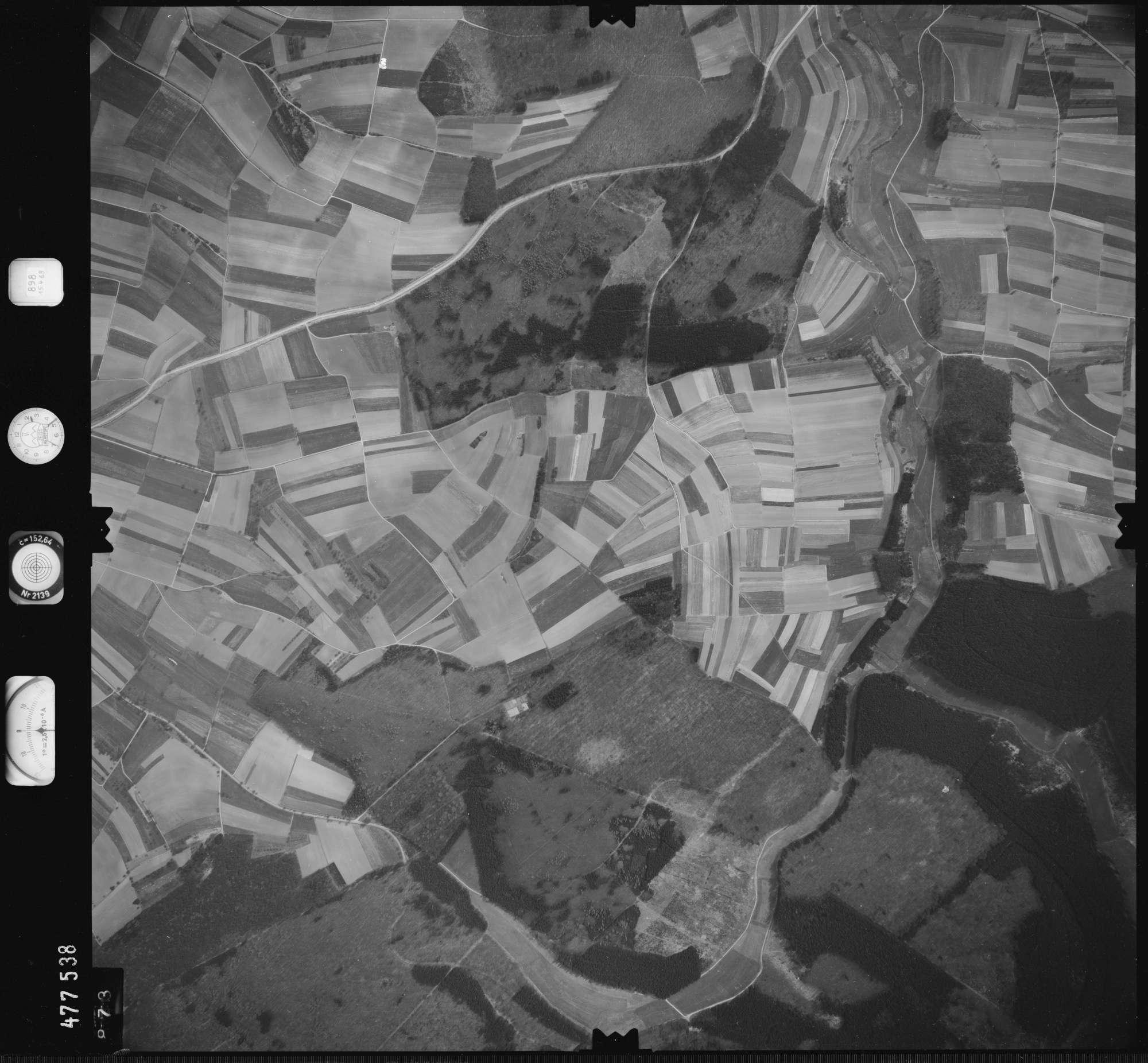 Luftbild: Film 898 Bildnr. 873, Bild 1