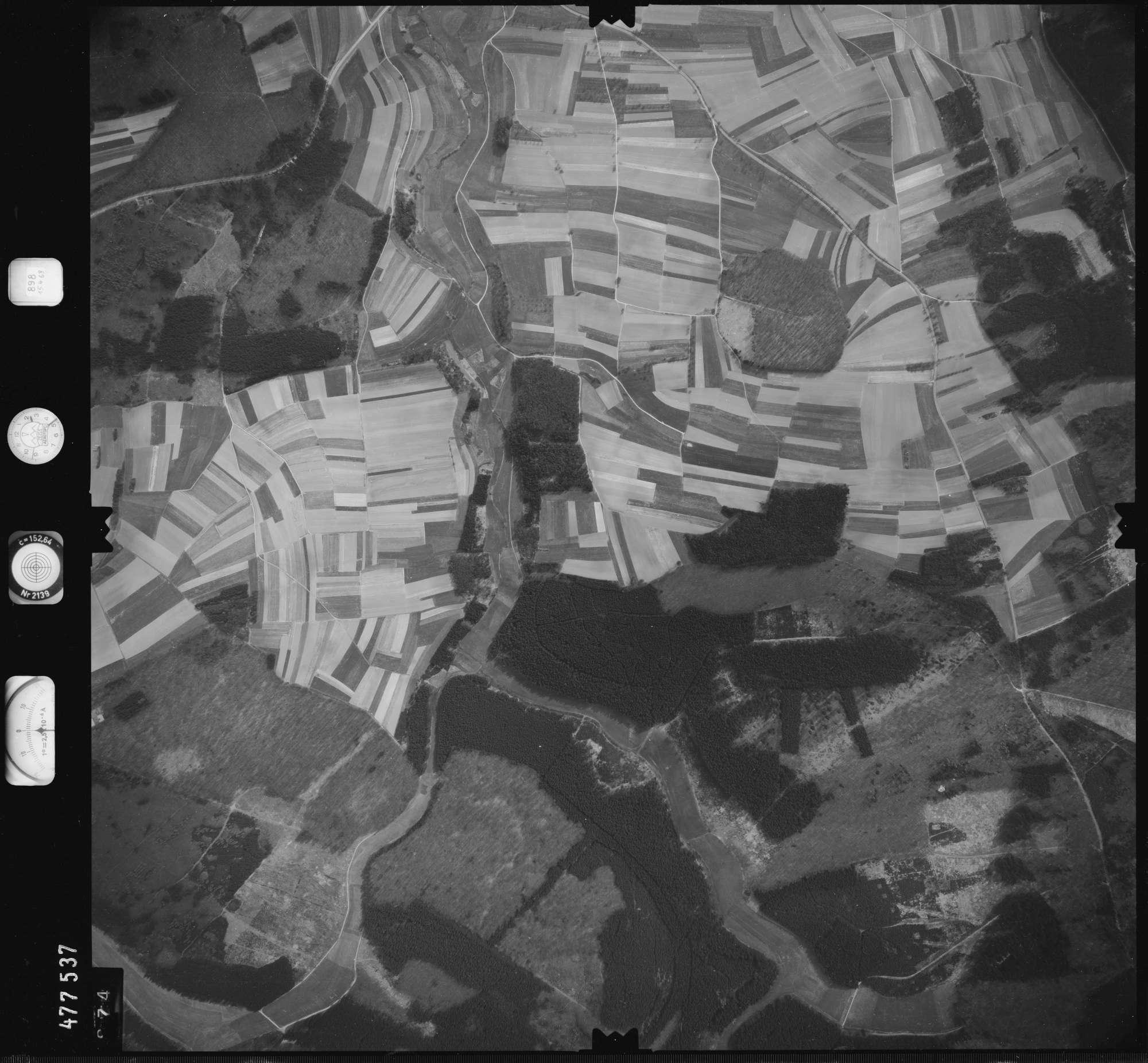 Luftbild: Film 898 Bildnr. 874, Bild 1