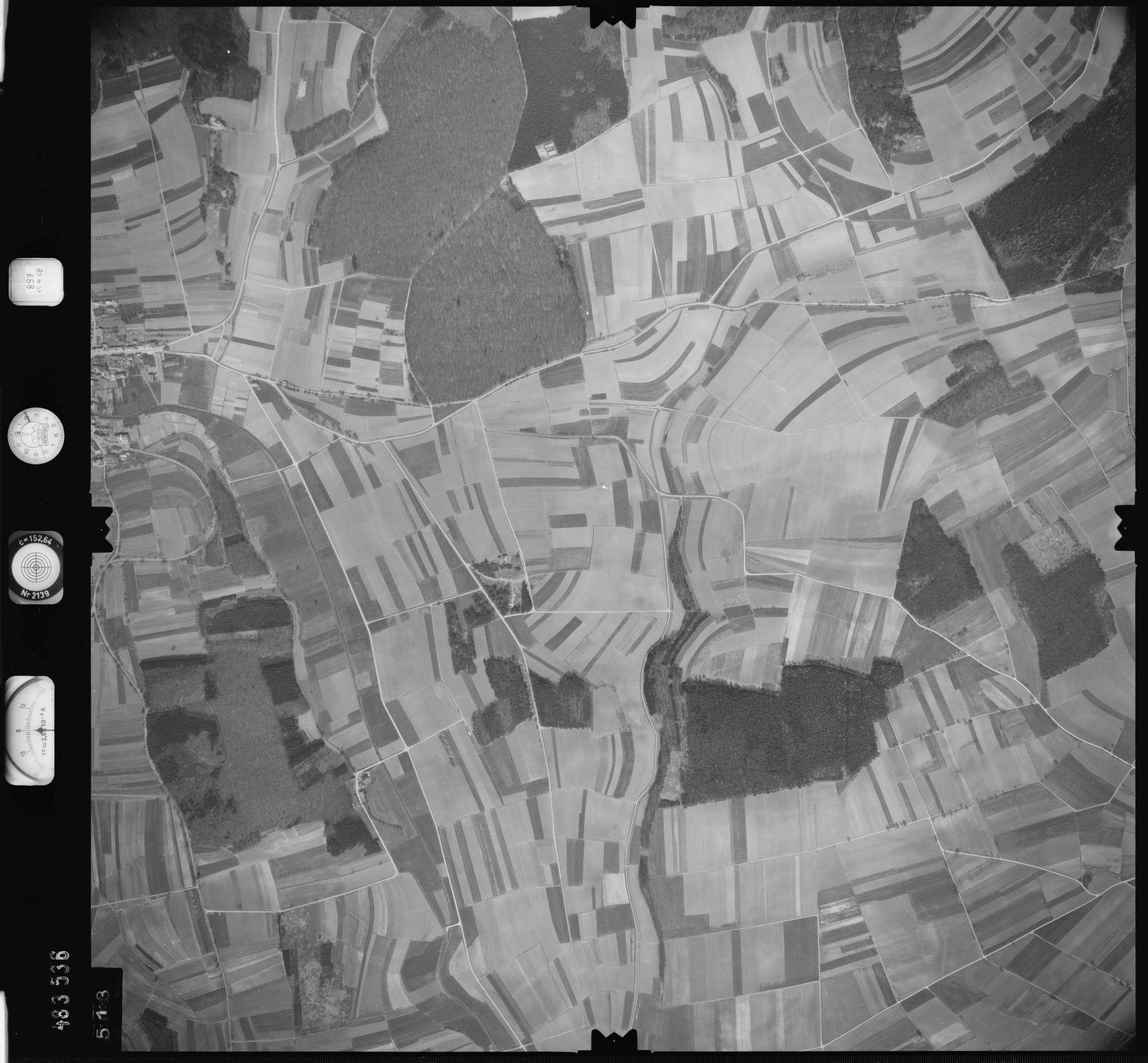 Luftbild: Film 897 Bildnr. 513, Bild 1