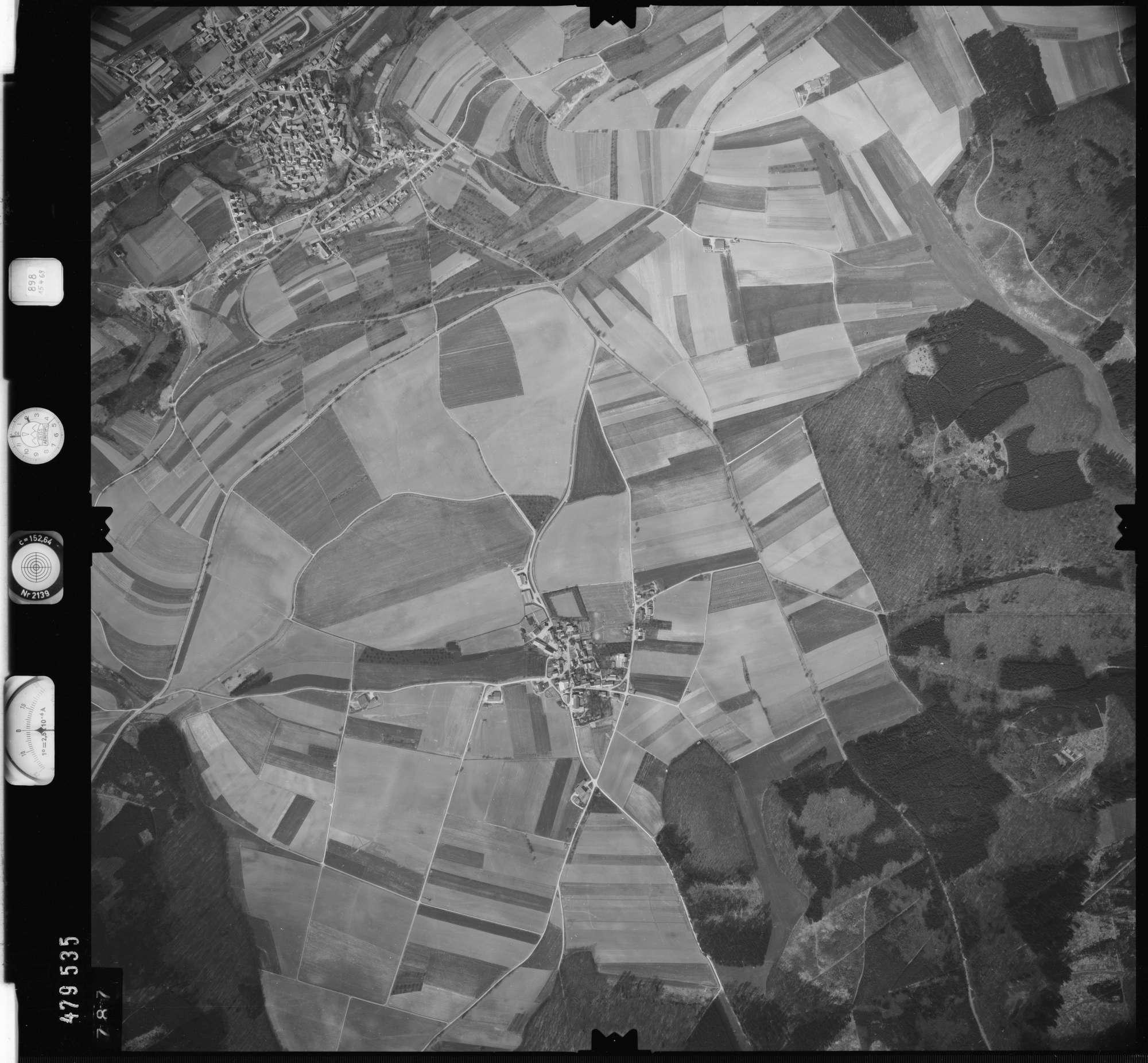 Luftbild: Film 898 Bildnr. 787, Bild 1