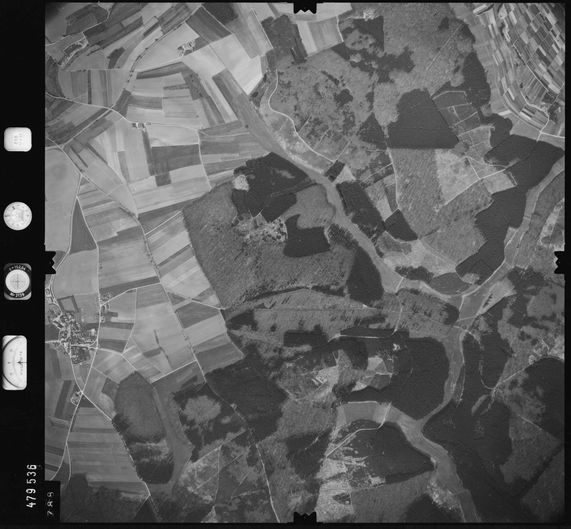 Luftbild: Film 898 Bildnr. 788, Bild 1