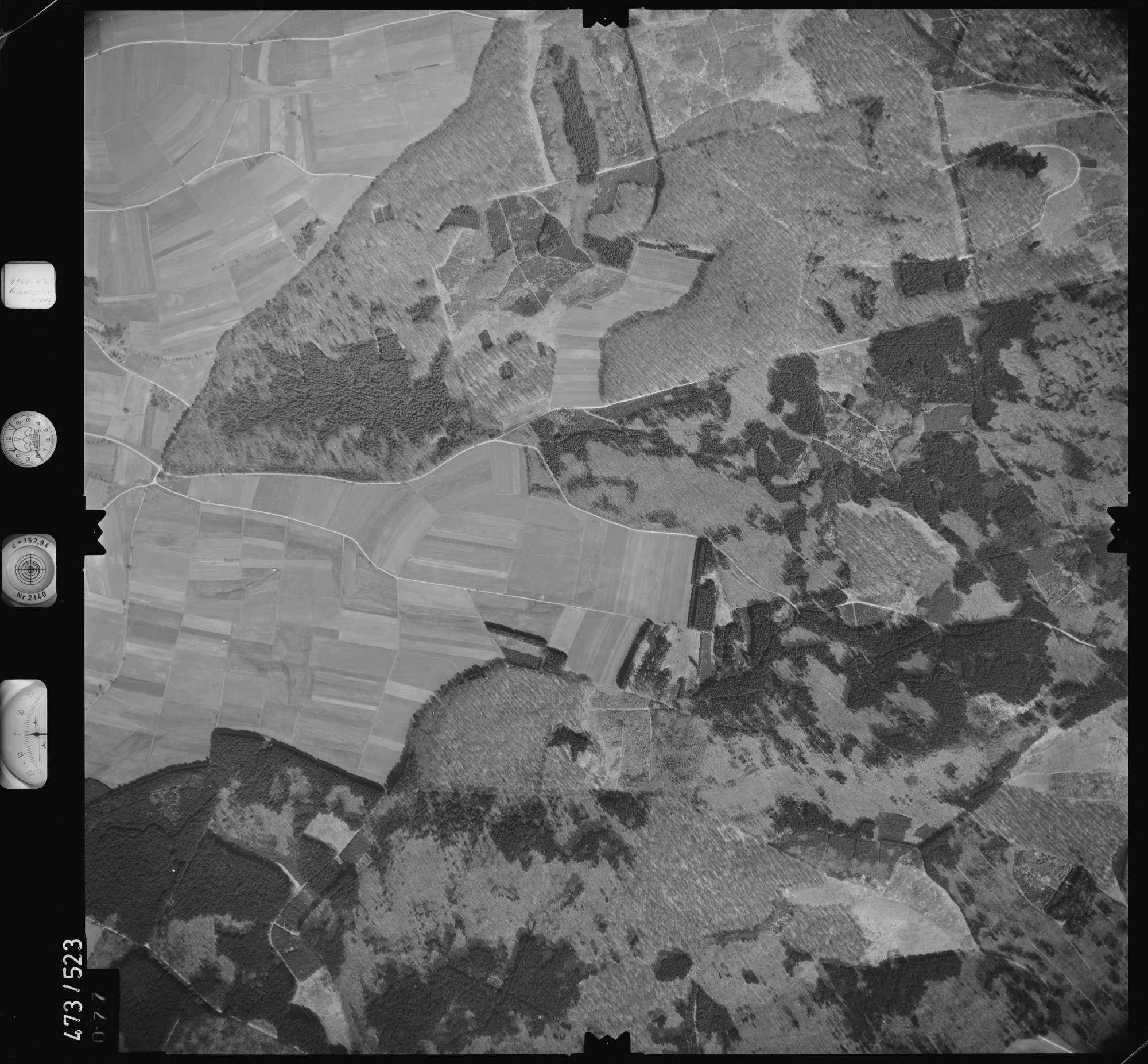 Luftbild: Film 100 Bildnr. 77, Bild 1