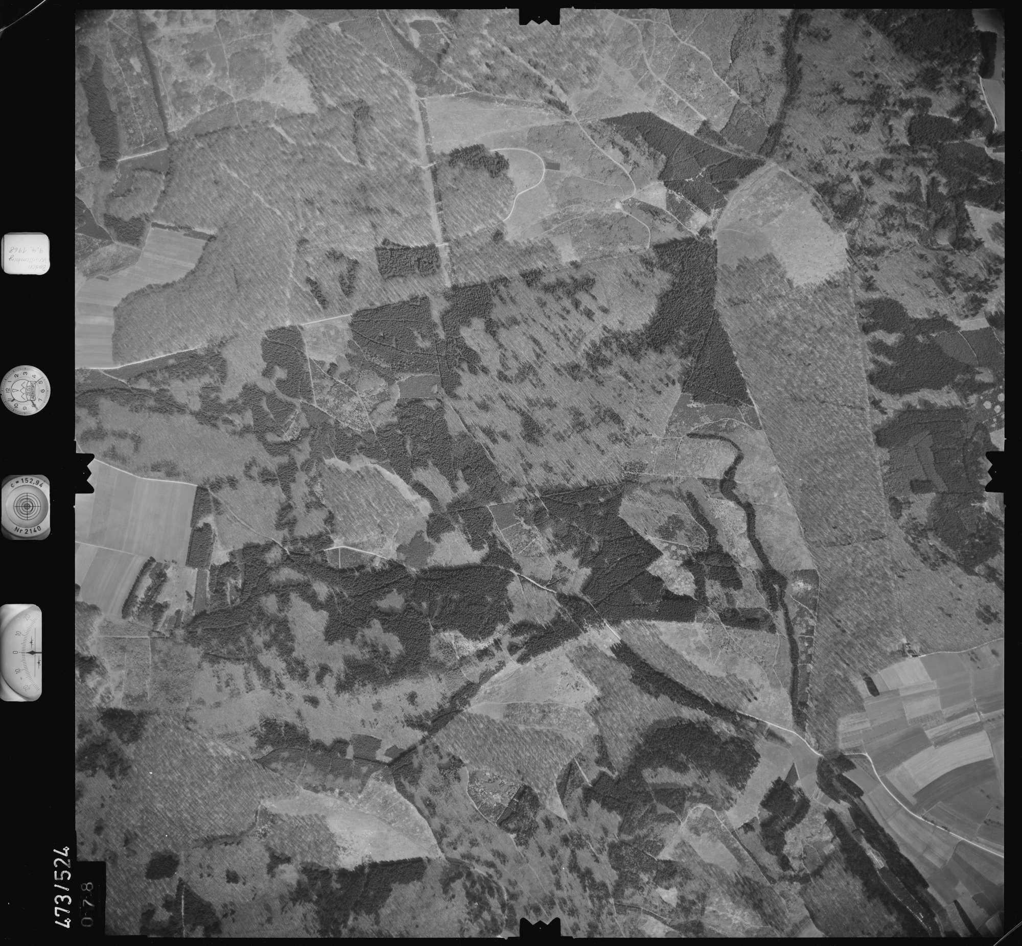 Luftbild: Film 100 Bildnr. 78, Bild 1