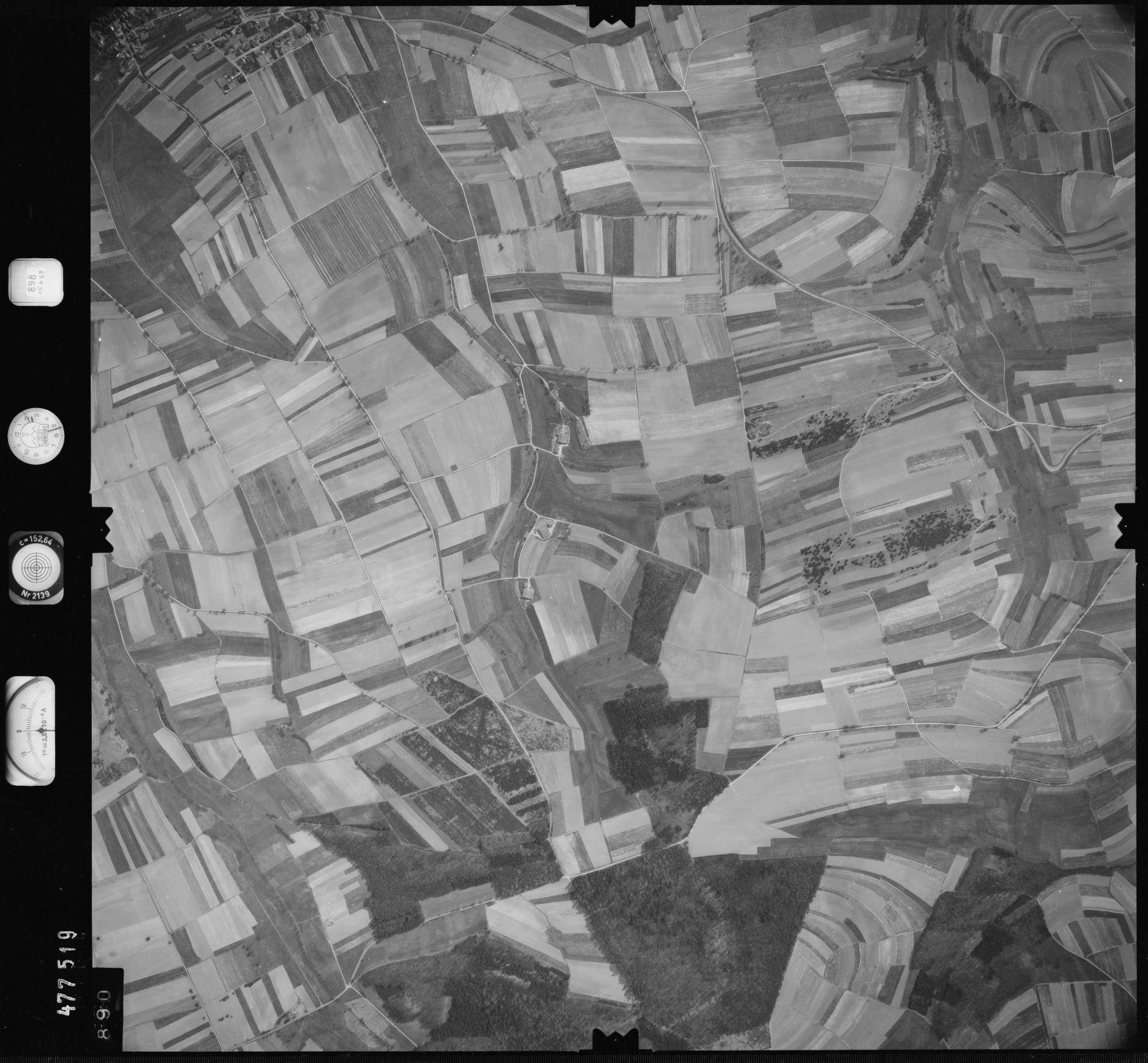 Luftbild: Film 898 Bildnr. 890, Bild 1