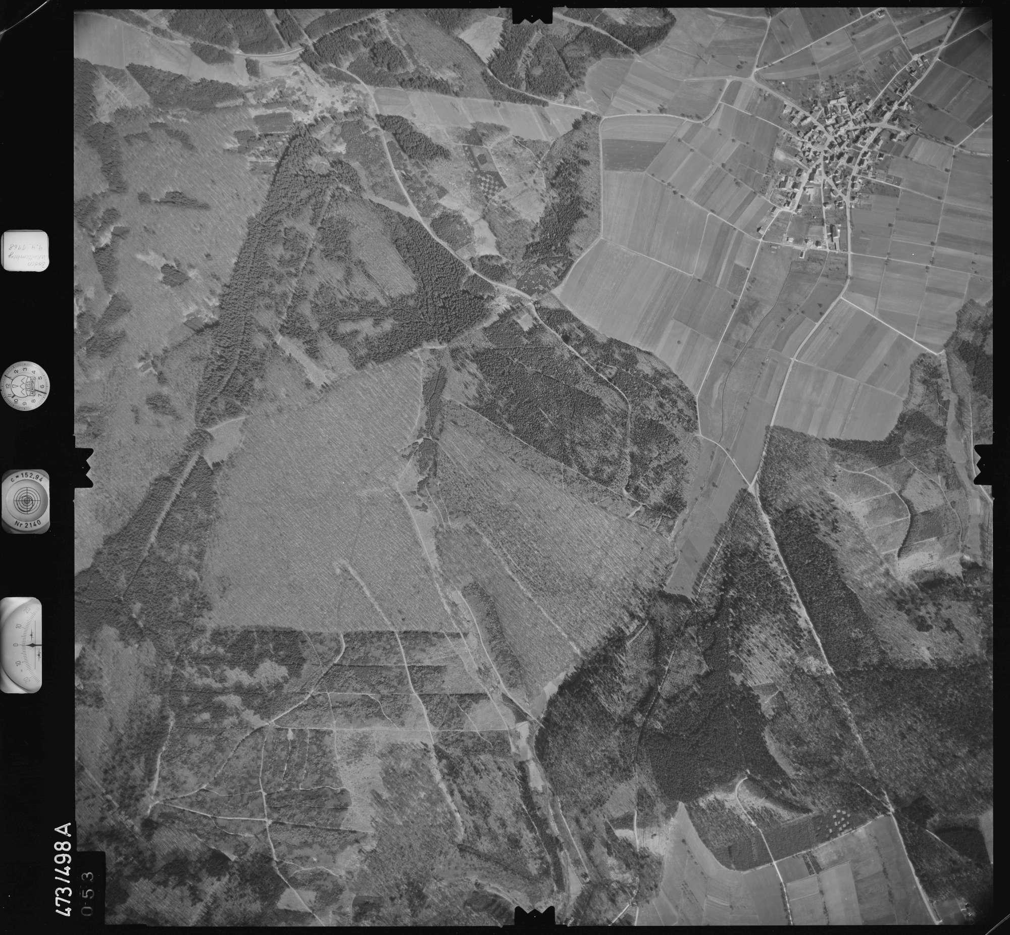 Luftbild: Film 100 Bildnr. 53, Bild 1