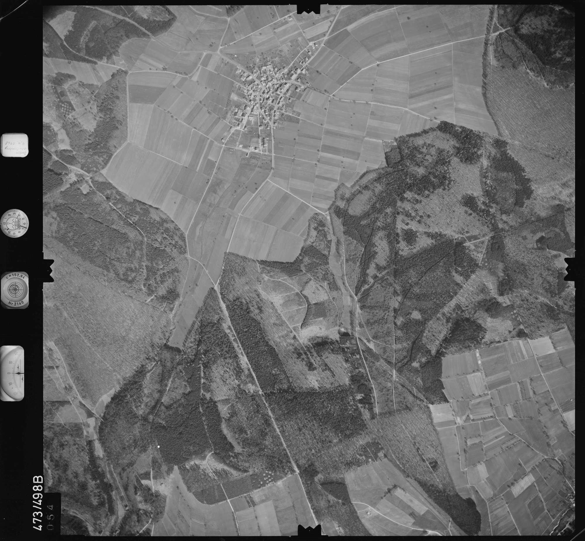 Luftbild: Film 100 Bildnr. 54, Bild 1