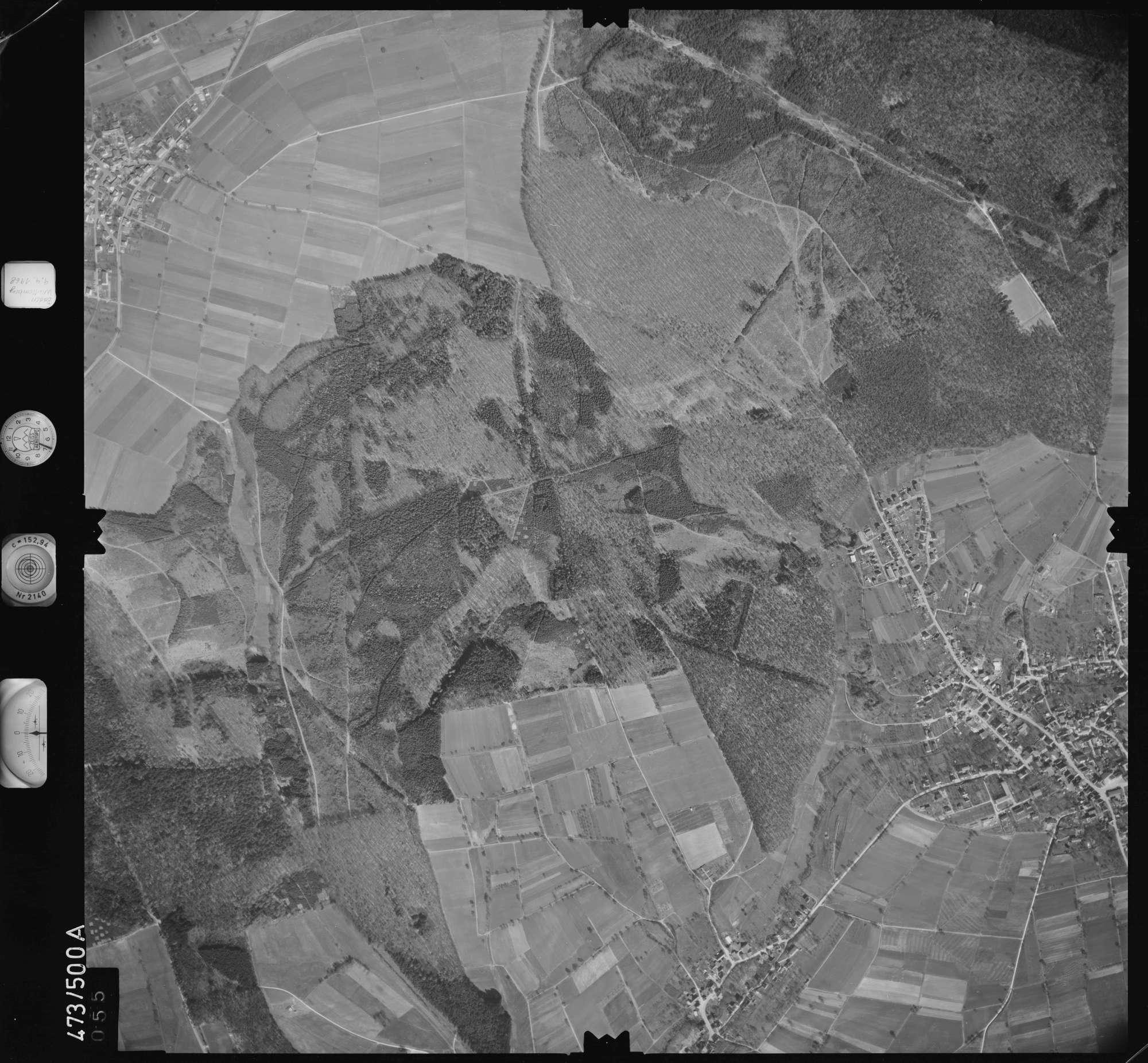 Luftbild: Film 100 Bildnr. 55, Bild 1