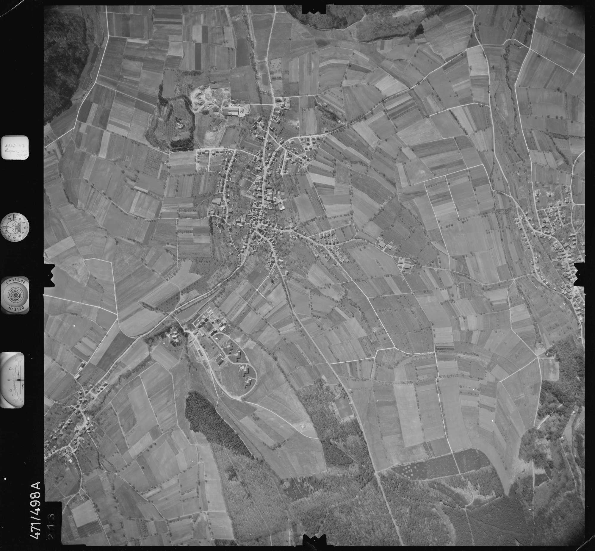 Luftbild: Film 100 Bildnr. 213, Bild 1