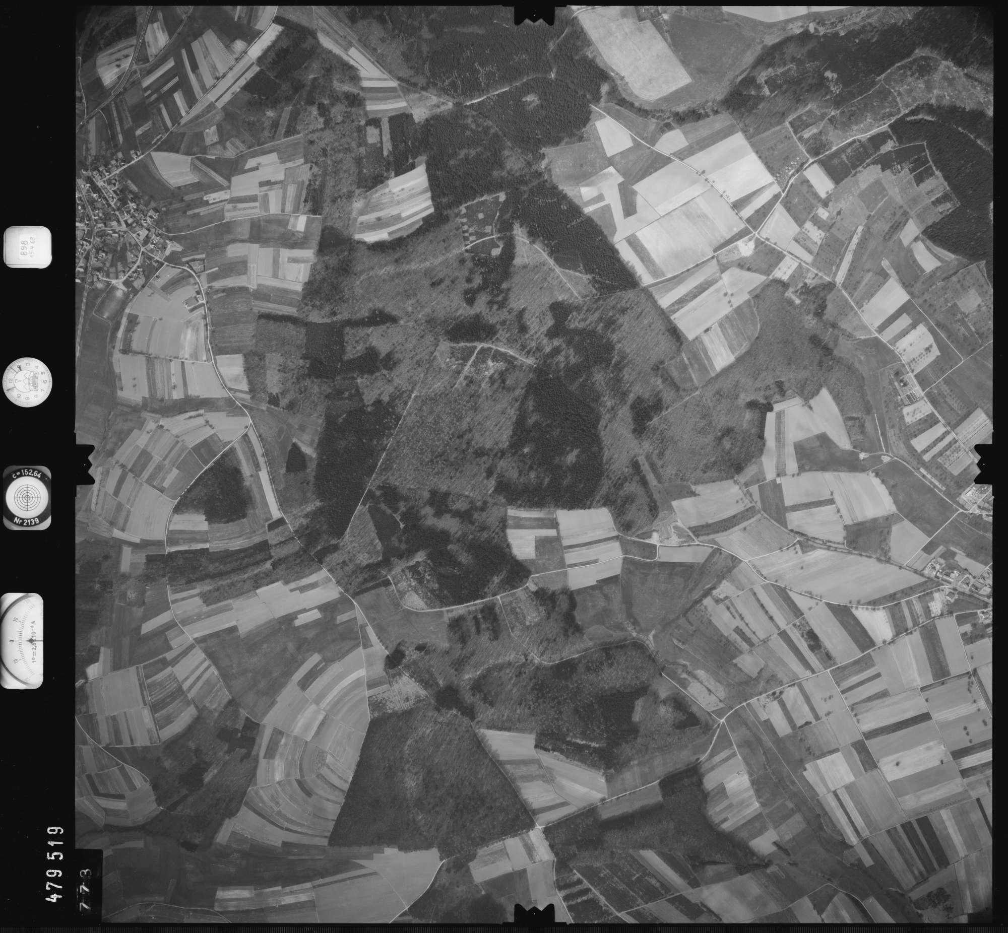 Luftbild: Film 898 Bildnr. 773, Bild 1