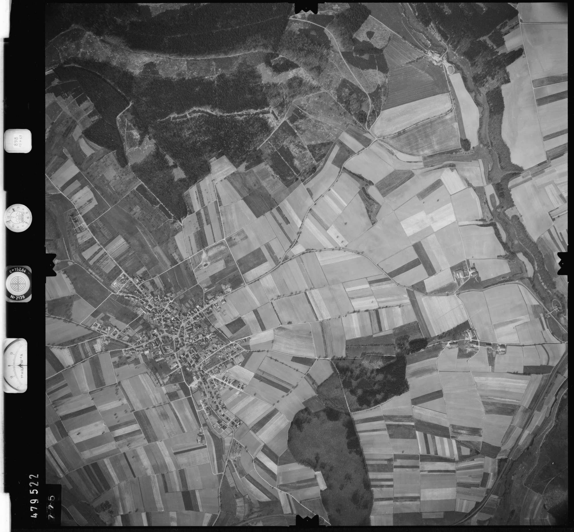 Luftbild: Film 898 Bildnr. 775, Bild 1