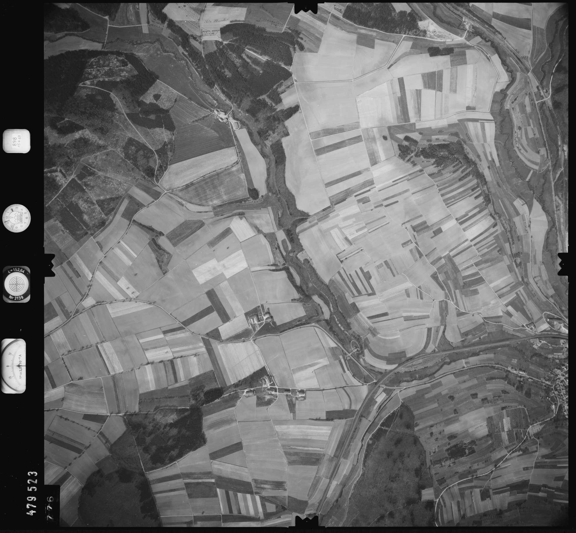 Luftbild: Film 898 Bildnr. 776, Bild 1