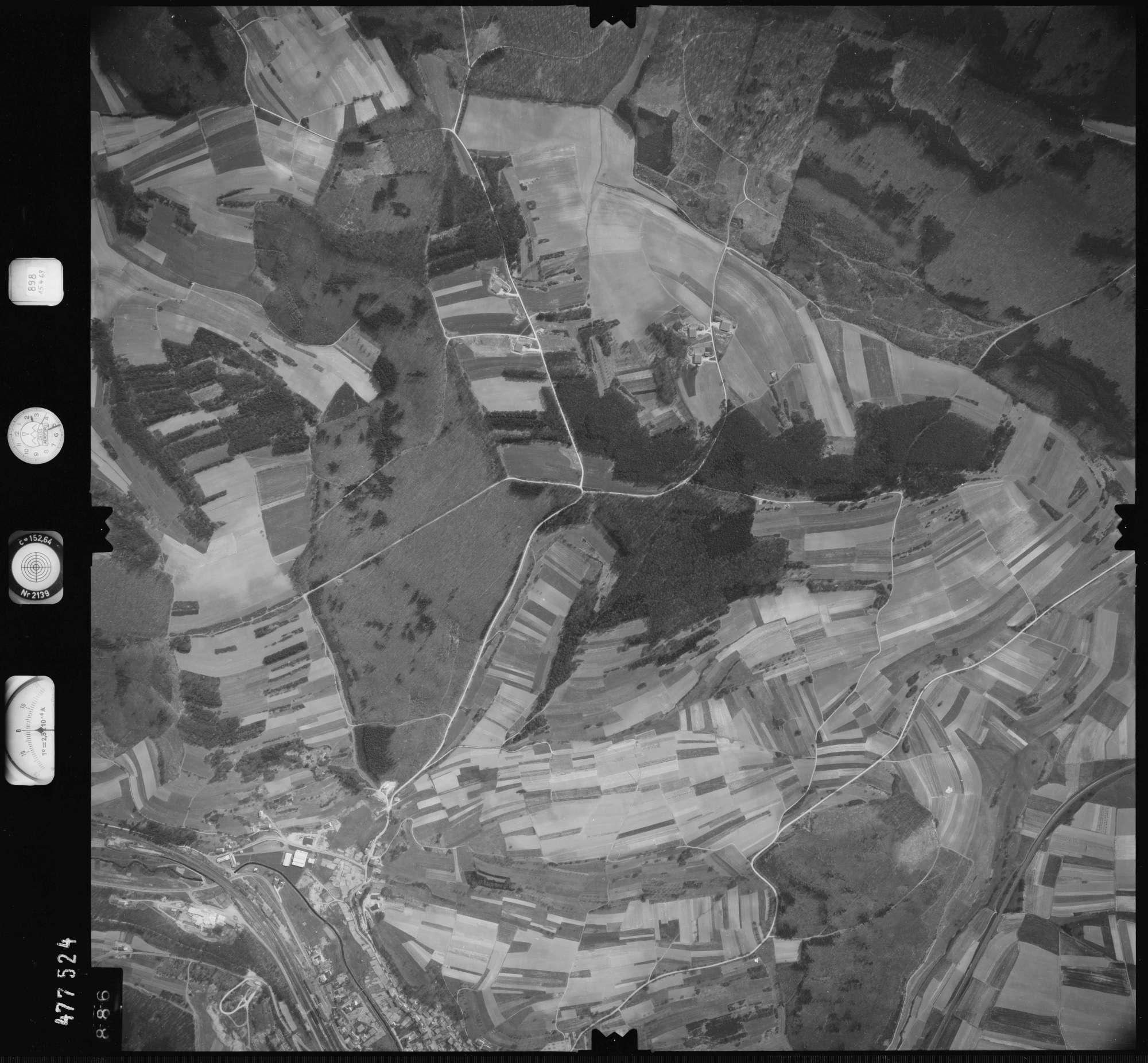 Luftbild: Film 898 Bildnr. 886, Bild 1