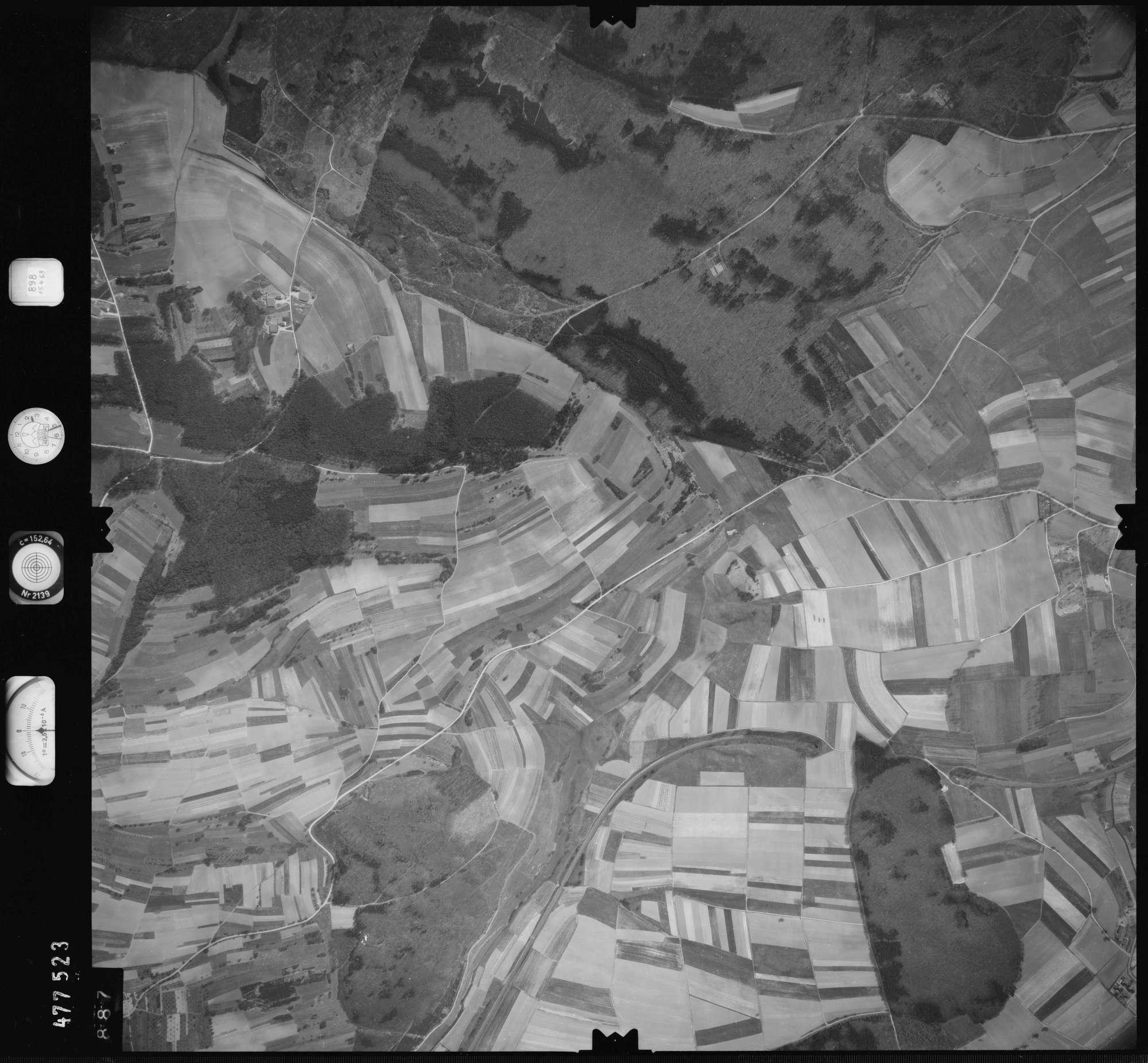 Luftbild: Film 898 Bildnr. 887, Bild 1