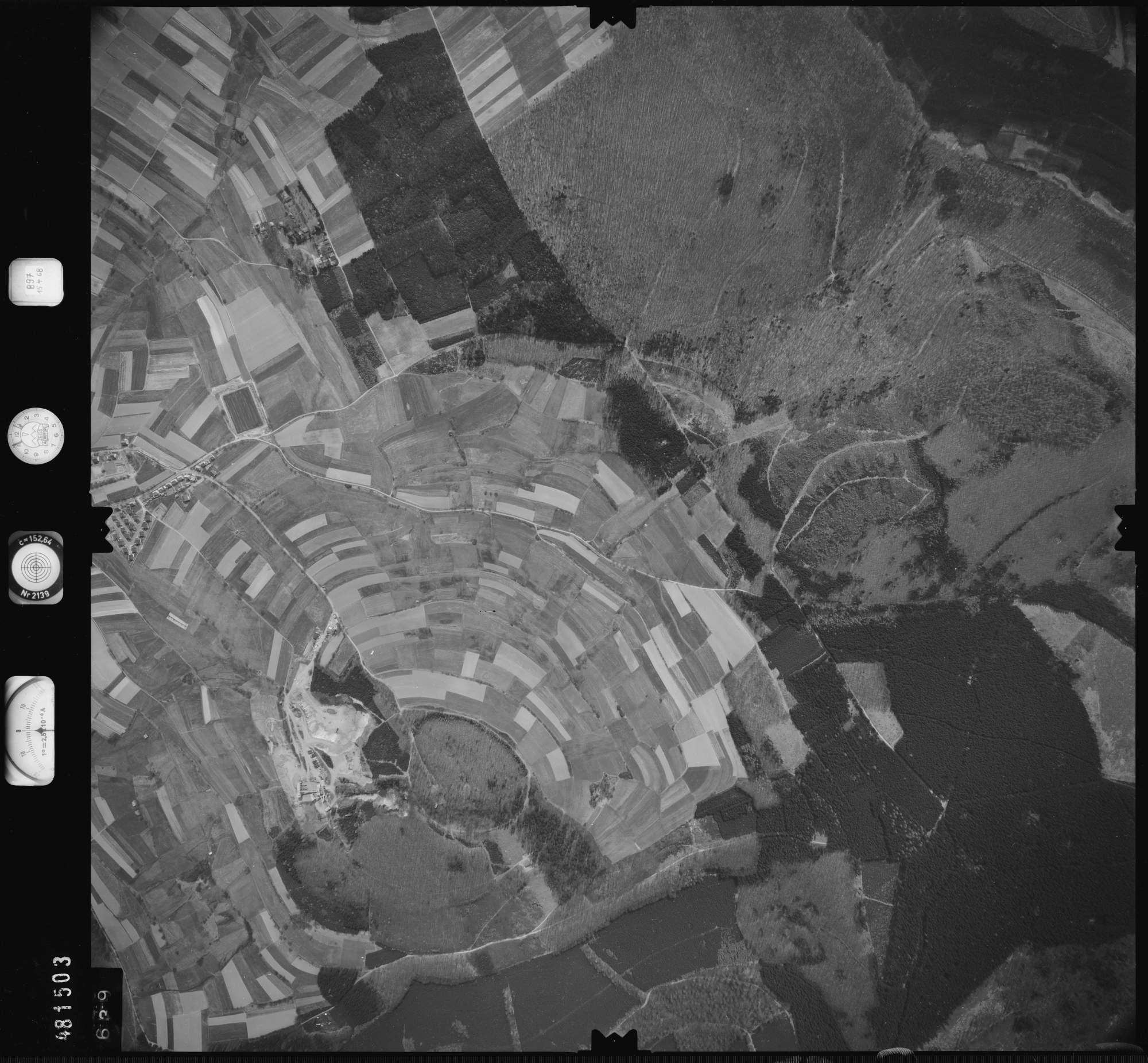 Luftbild: Film 897 Bildnr. 639, Bild 1