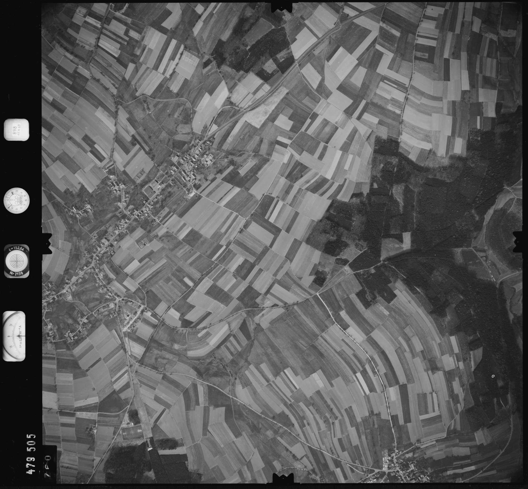 Luftbild: Film 898 Bildnr. 760, Bild 1