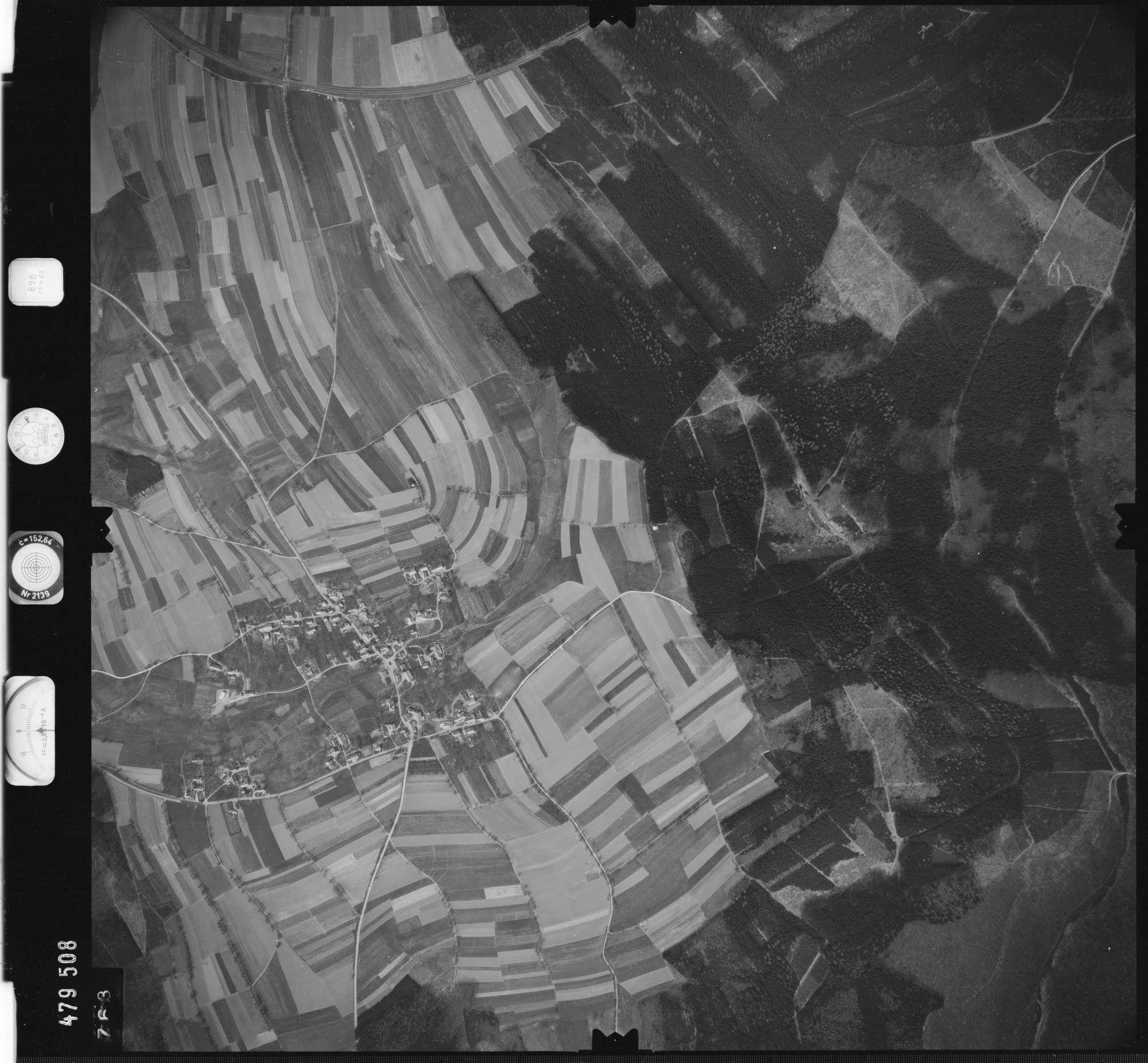 Luftbild: Film 898 Bildnr. 763, Bild 1