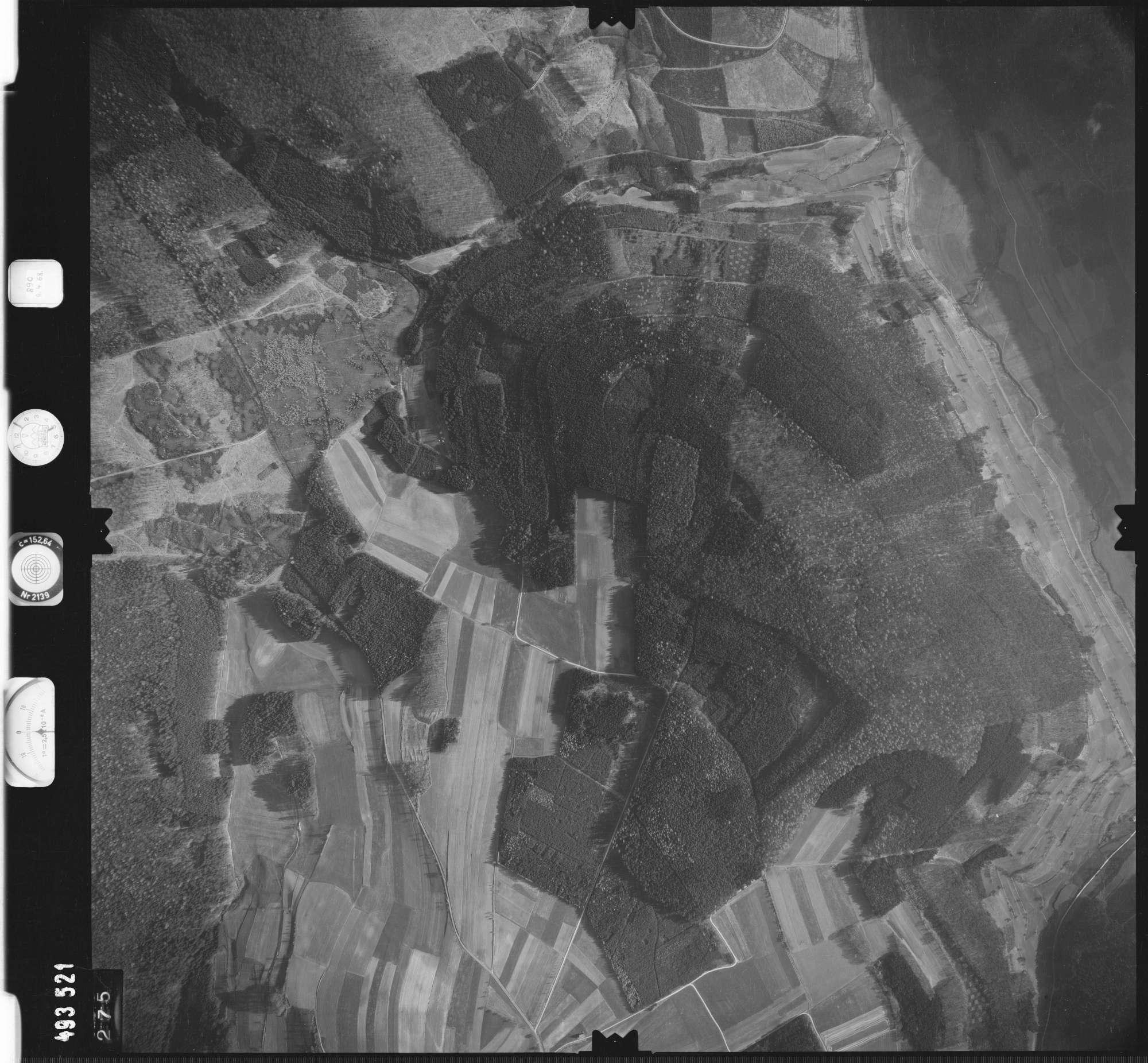 Luftbild: Film 889 Bildnr. 275, Bild 1