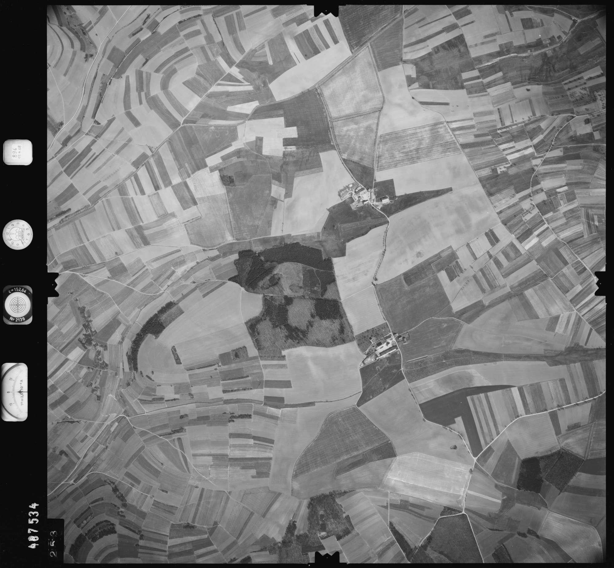 Luftbild: Film 896 Bildnr. 253, Bild 1
