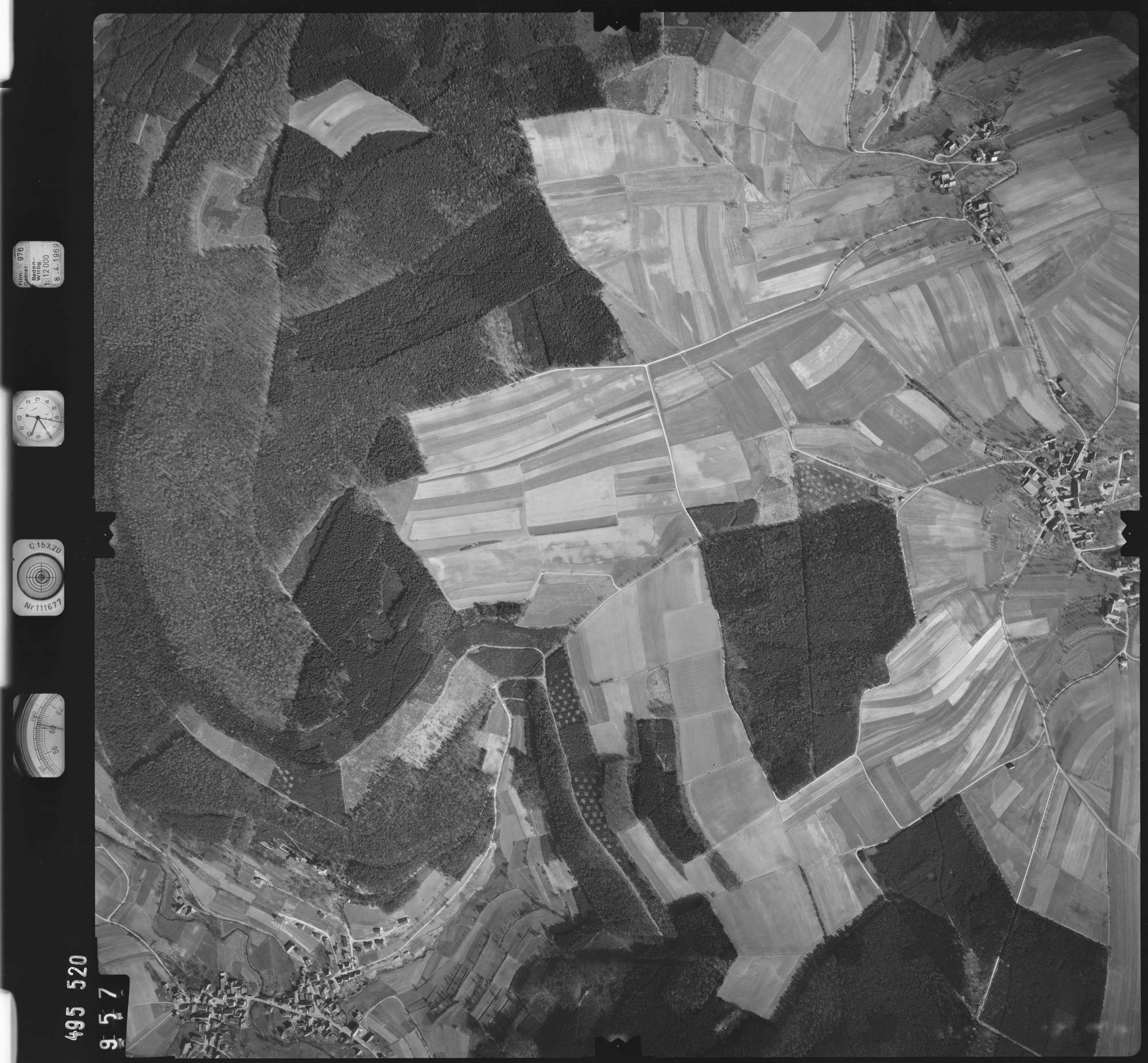 Luftbild: Film 976 Bildnr. 957, Bild 1