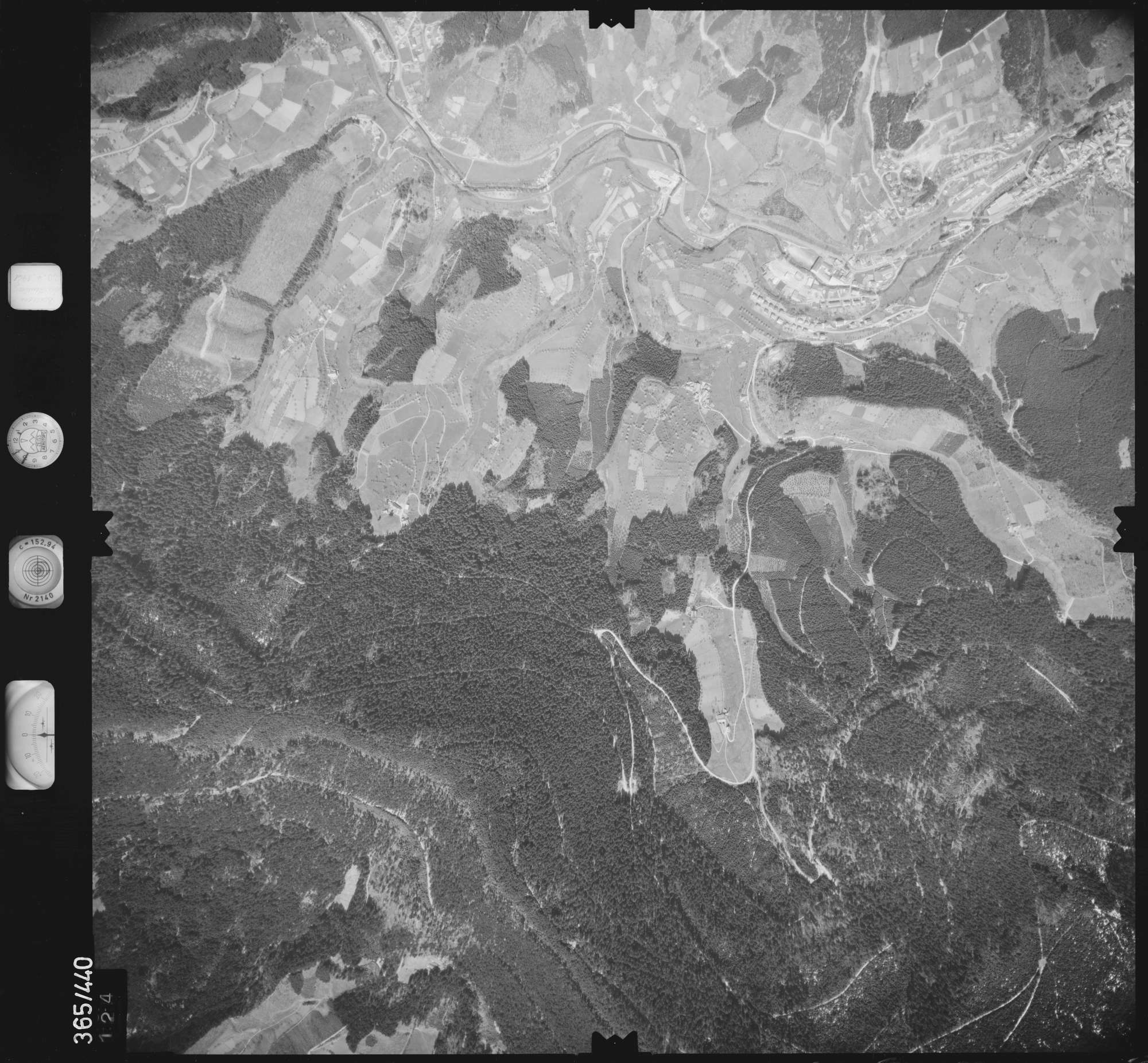 Luftbild: Film 15 Bildnr. 124, Bild 1