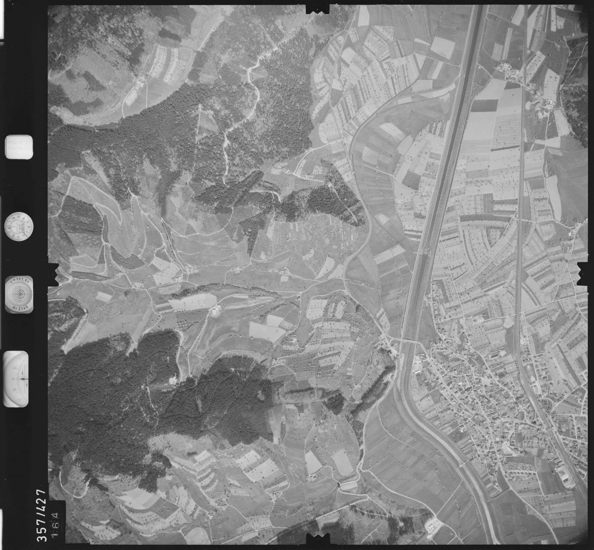 Luftbild: Film 11 Bildnr. 164, Bild 1