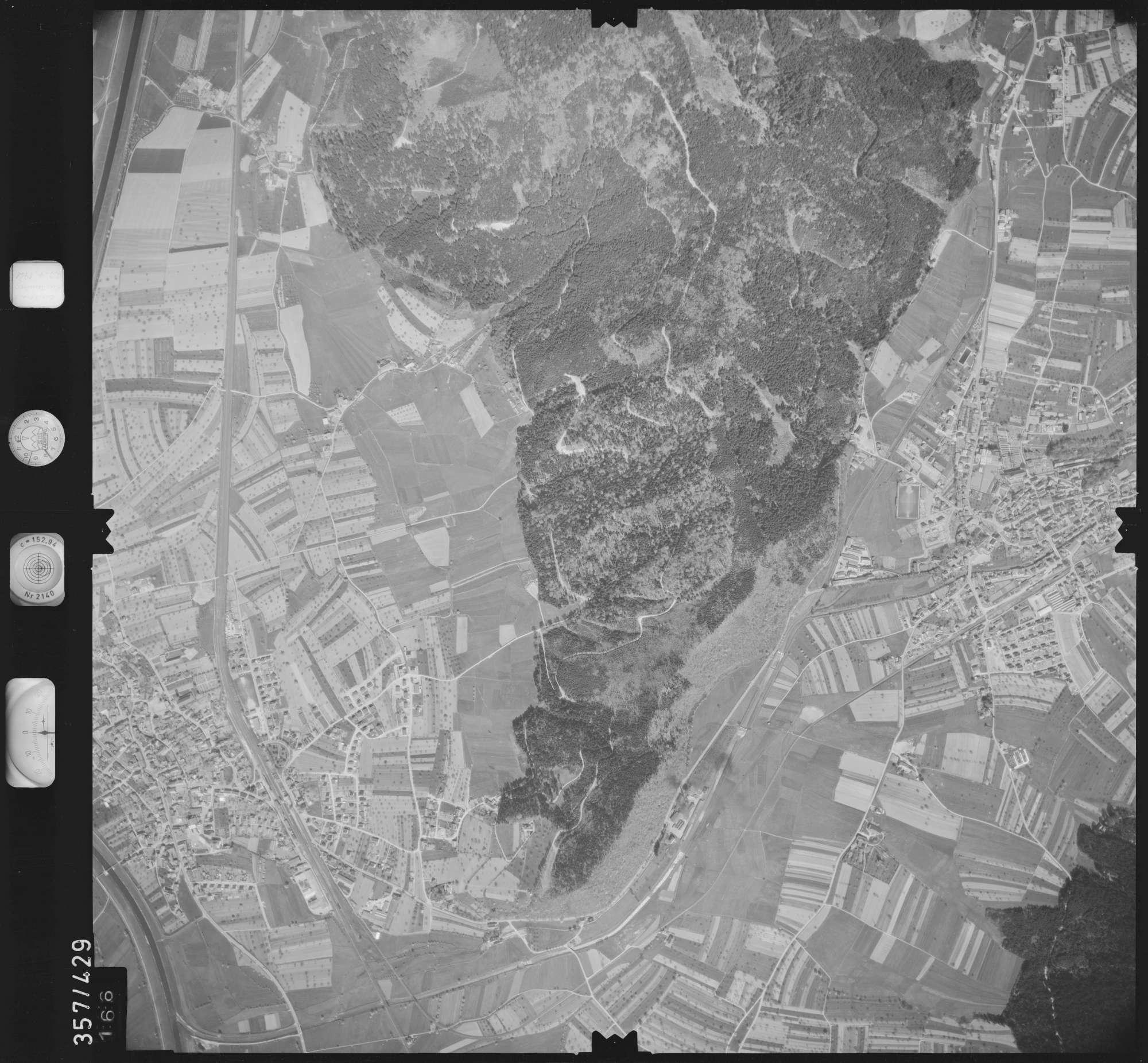 Luftbild: Film 11 Bildnr. 166, Bild 1