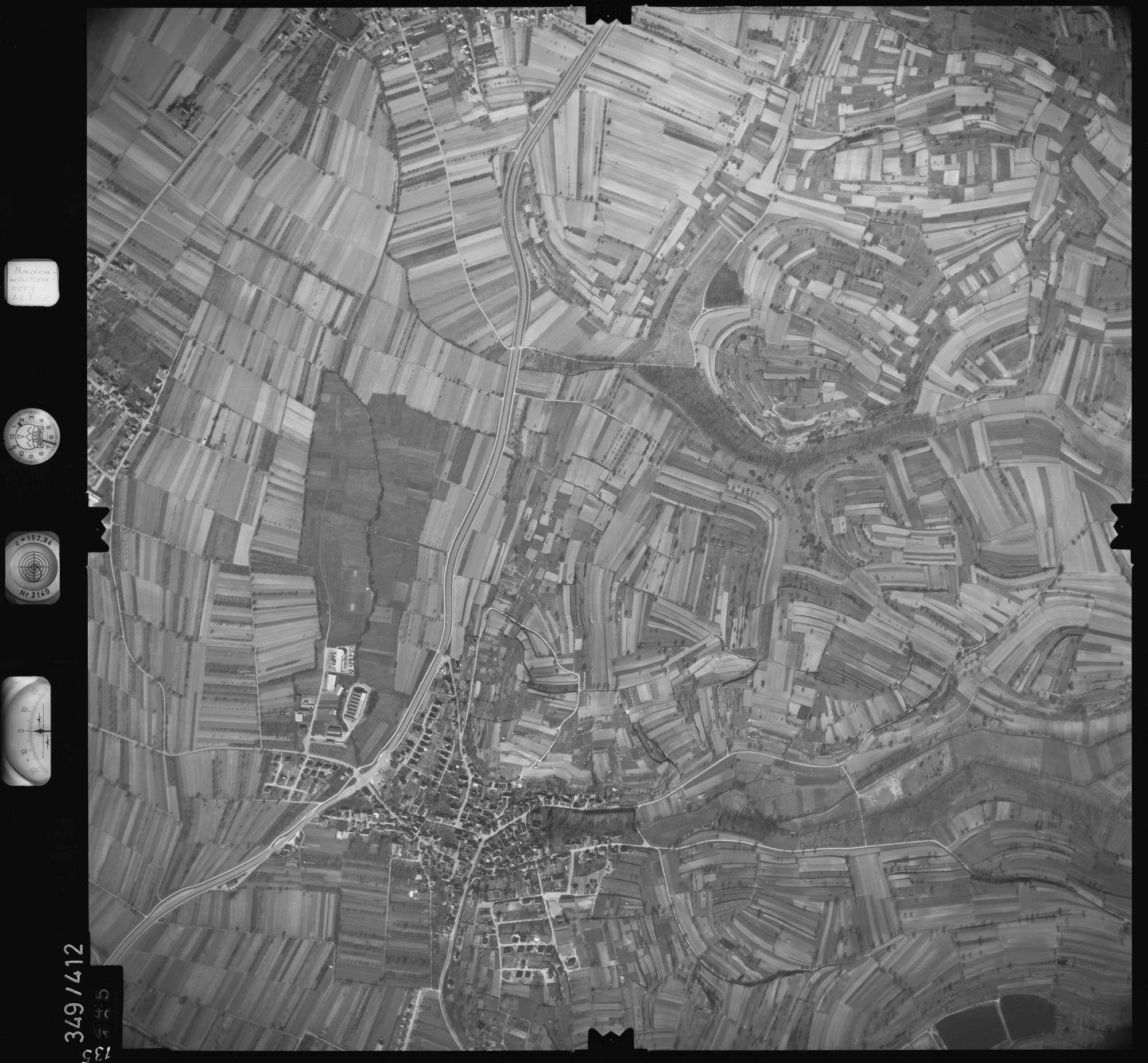 Luftbild: Film 36 Bildnr. 135, Bild 1