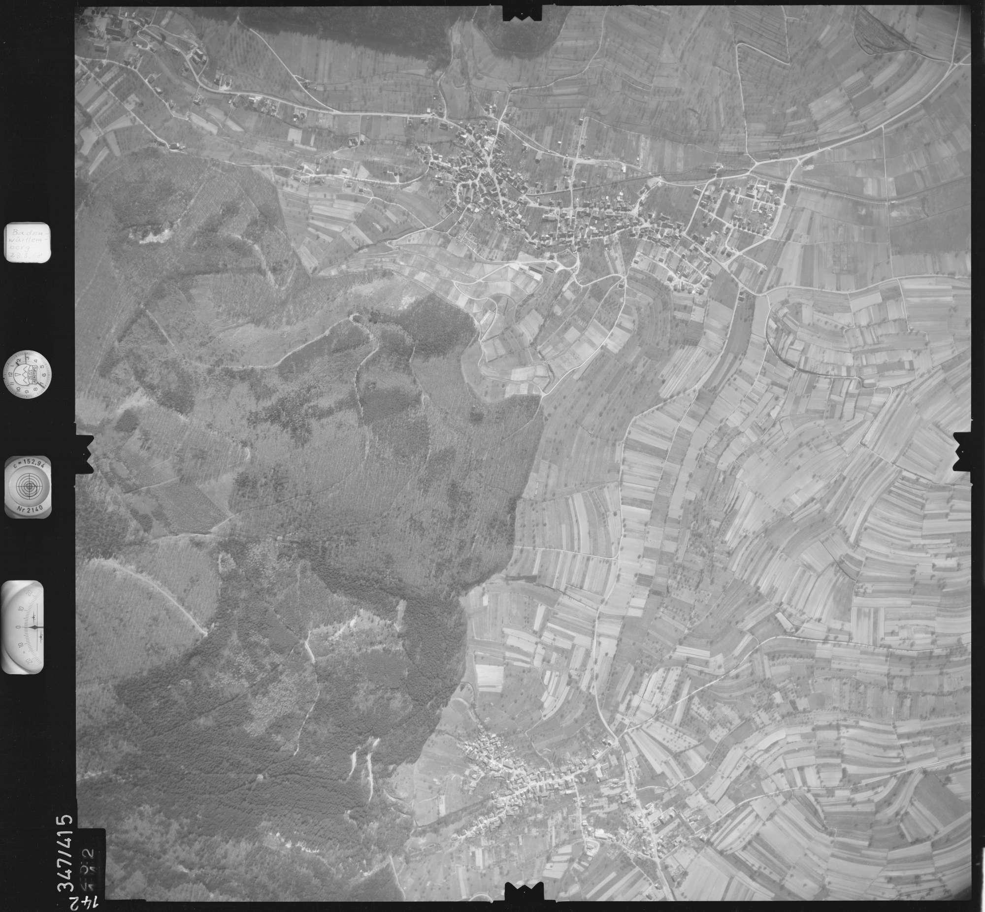 Luftbild: Film 36 Bildnr. 142, Bild 1