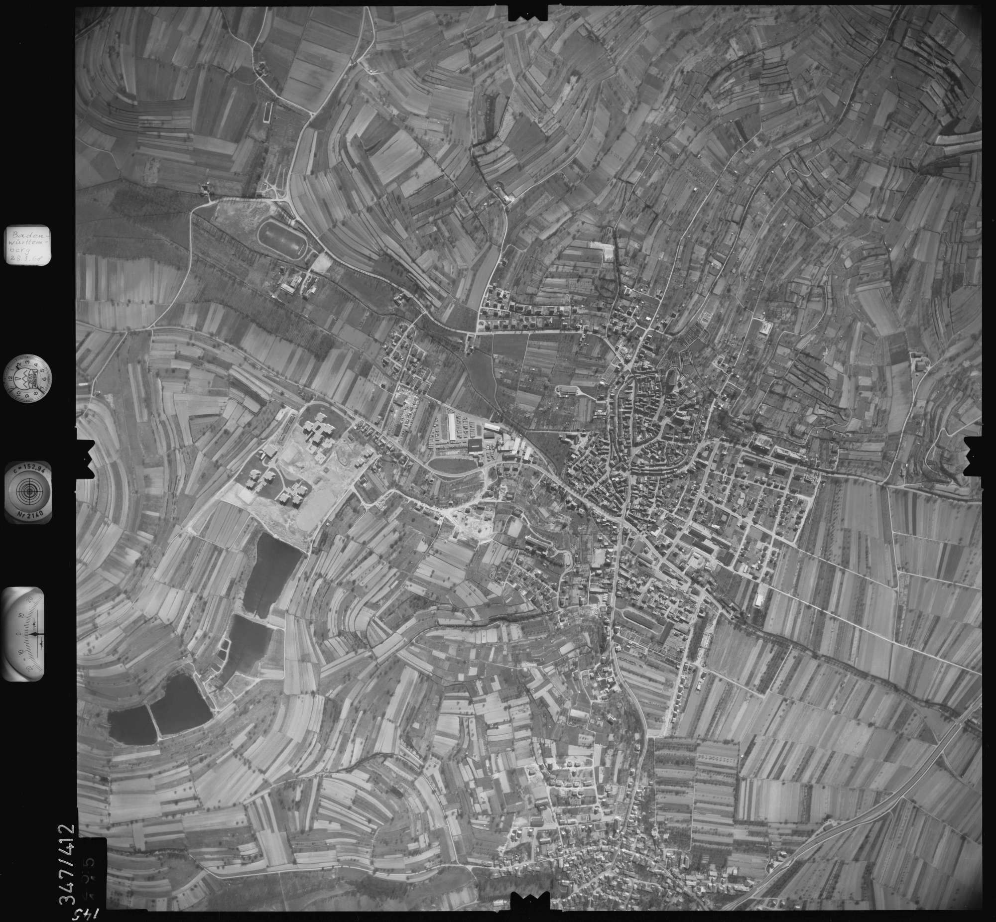 Luftbild: Film 36 Bildnr. 145, Bild 1