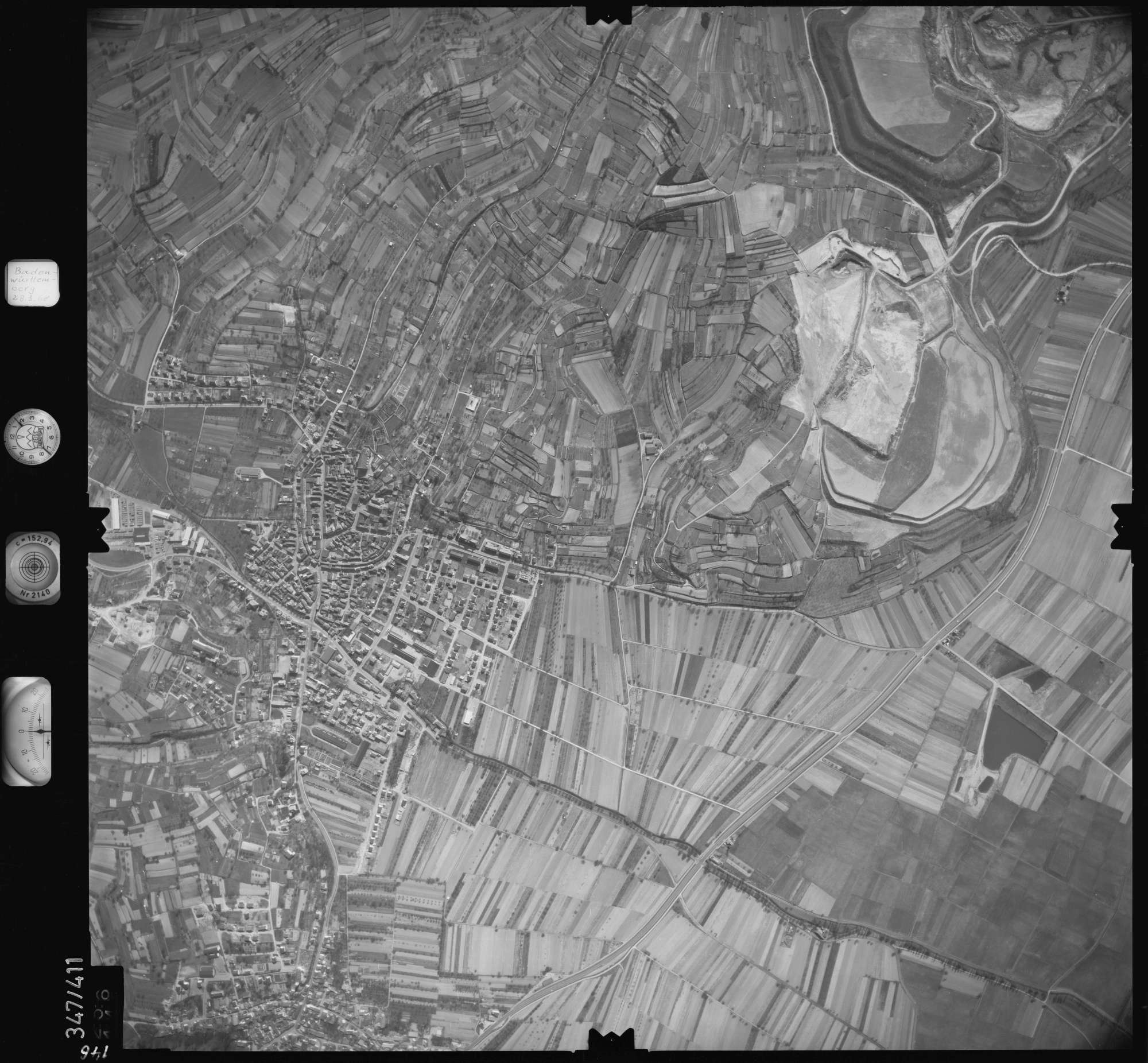 Luftbild: Film 36 Bildnr. 146, Bild 1