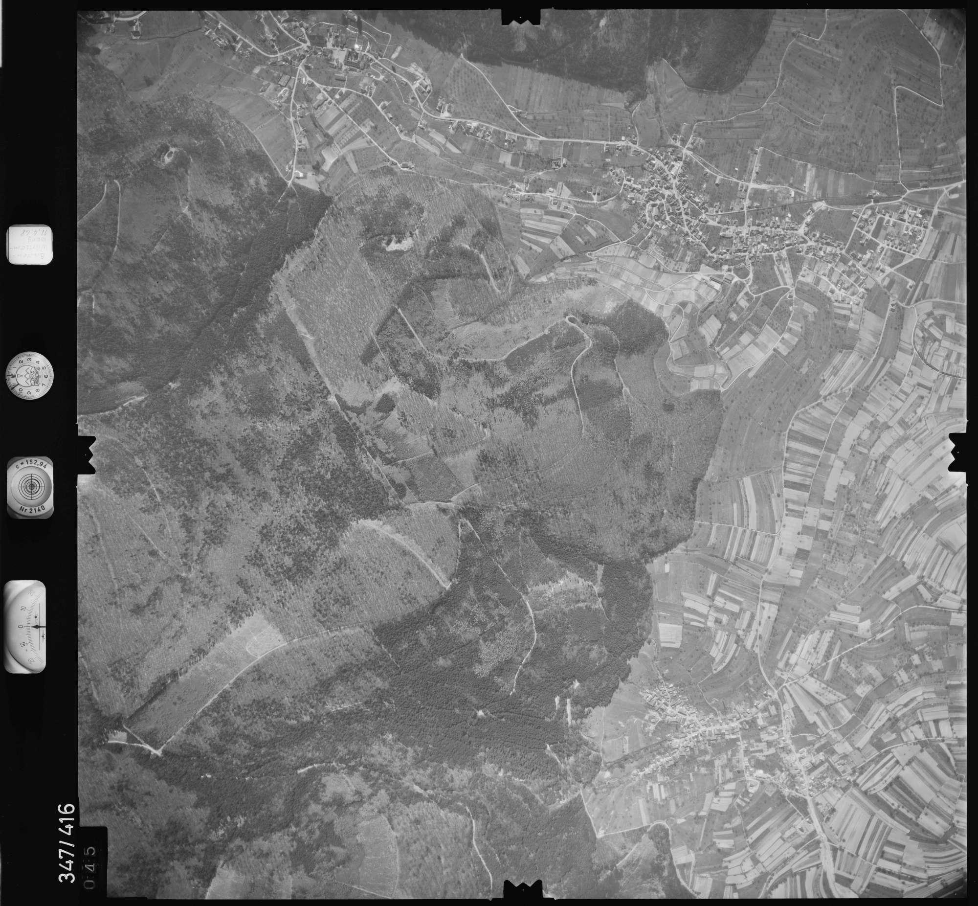 Luftbild: Film 37 Bildnr. 45, Bild 1