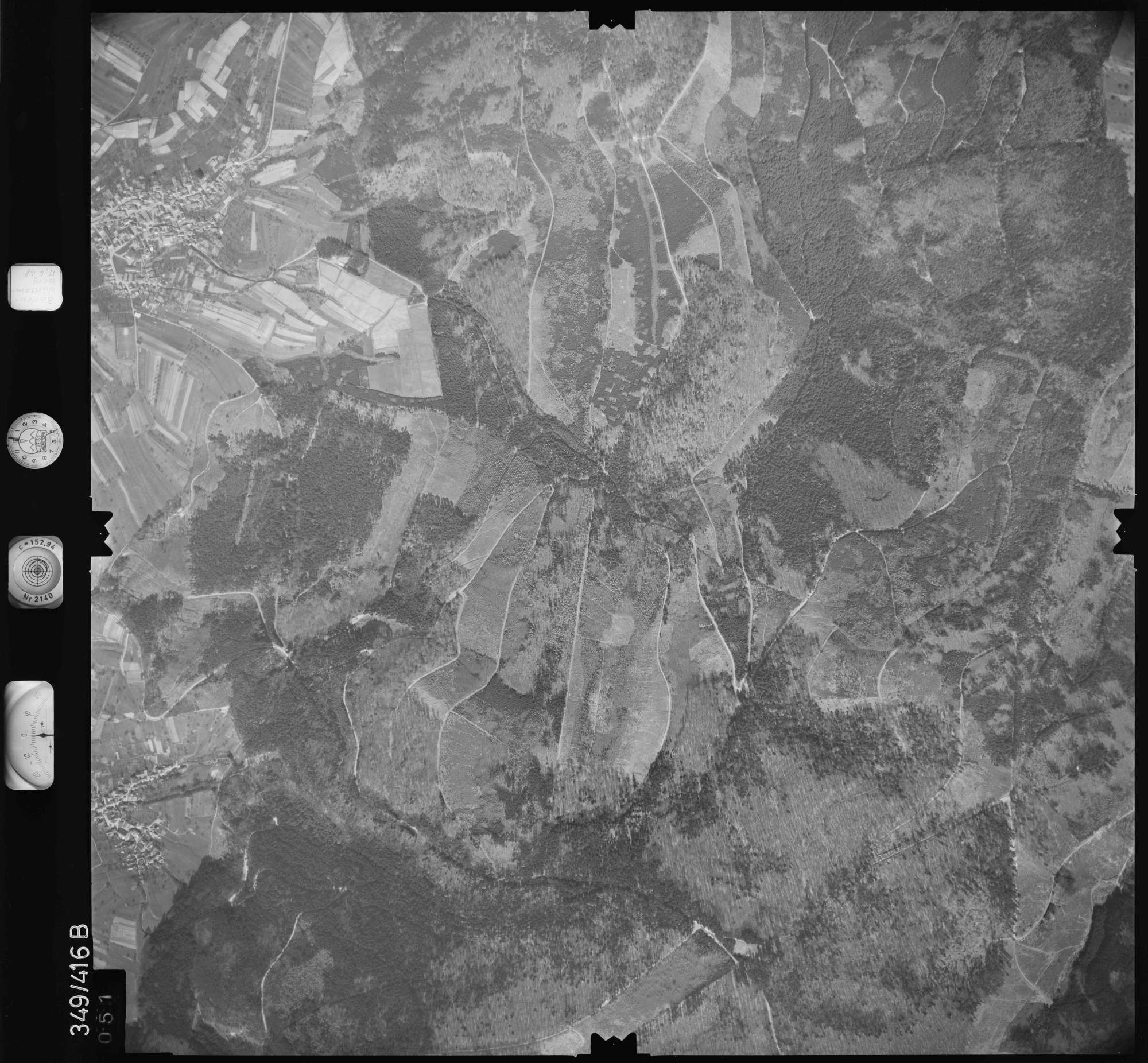 Luftbild: Film 37 Bildnr. 51, Bild 1