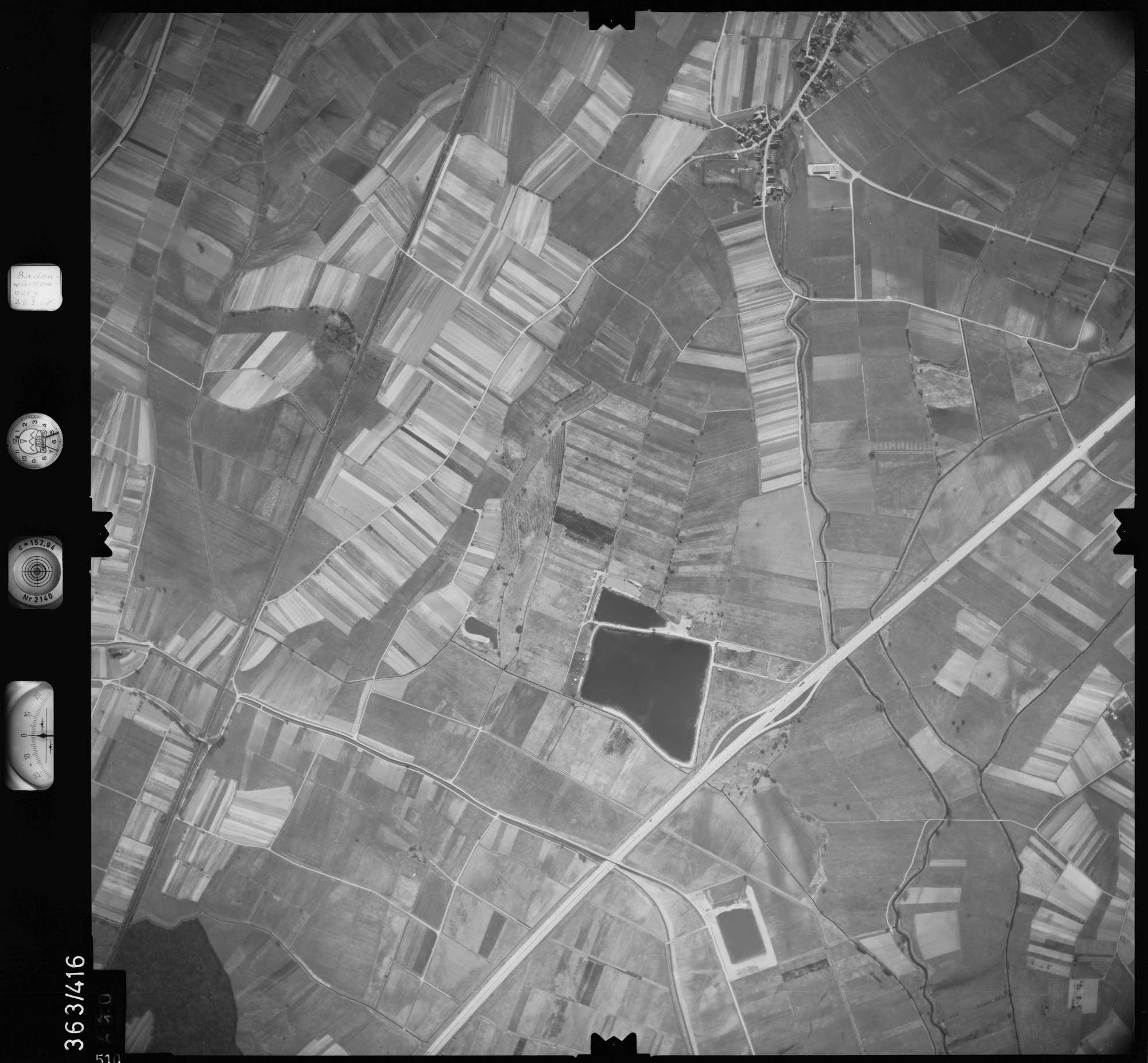 Luftbild: Film 28 Bildnr. 510, Bild 1