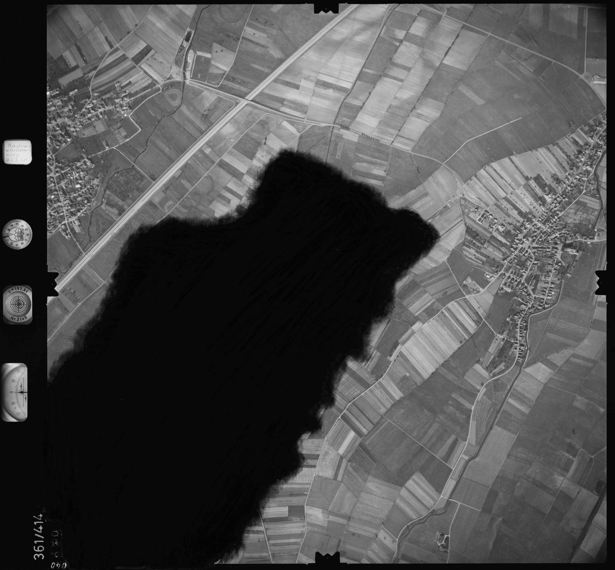 Luftbild: Film 36 Bildnr. 40, Bild 1