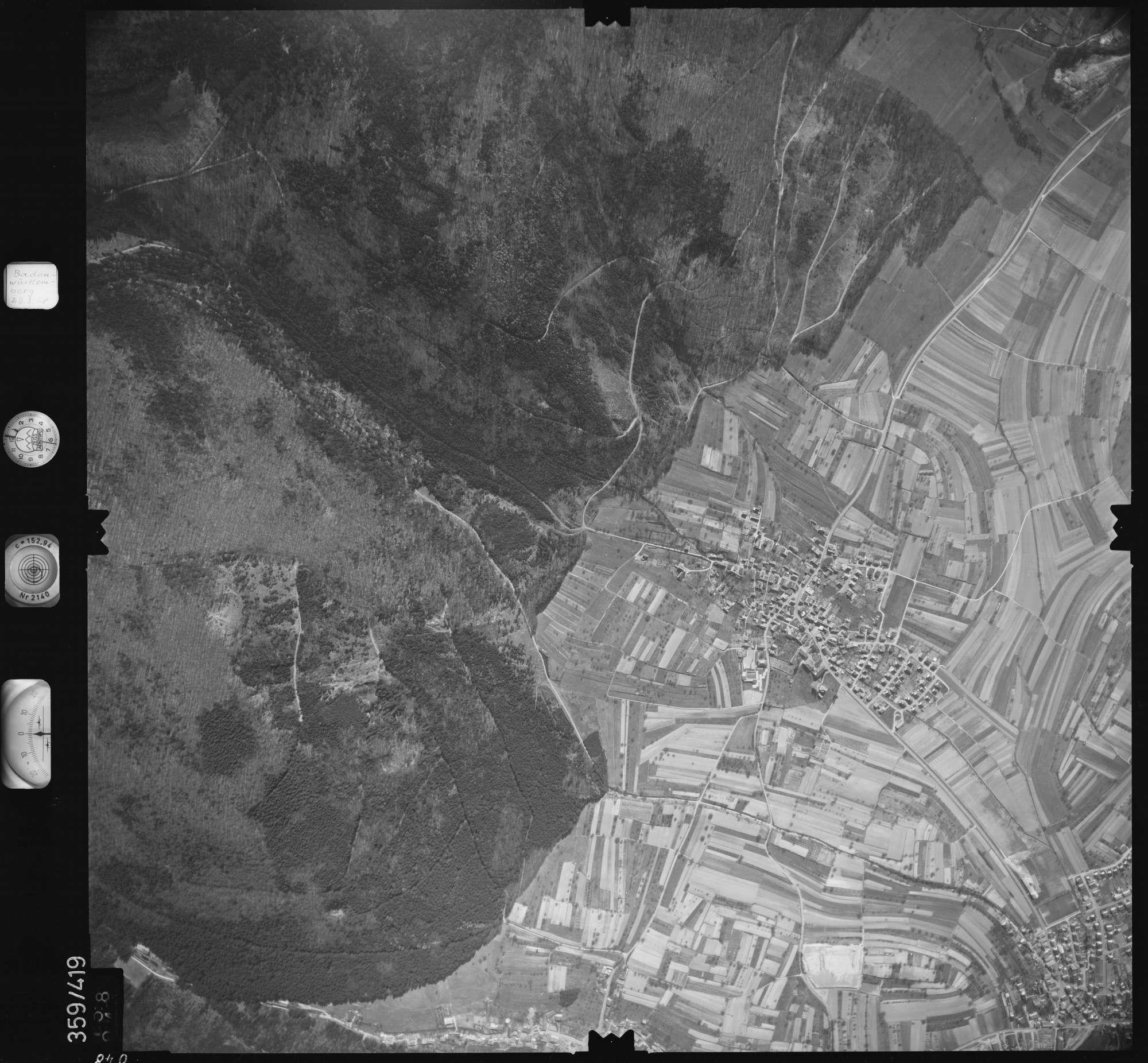 Luftbild: Film 36 Bildnr. 48, Bild 1