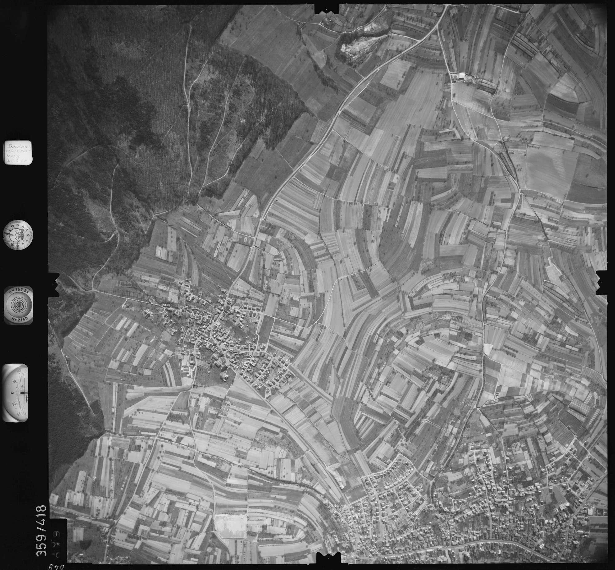Luftbild: Film 36 Bildnr. 49, Bild 1