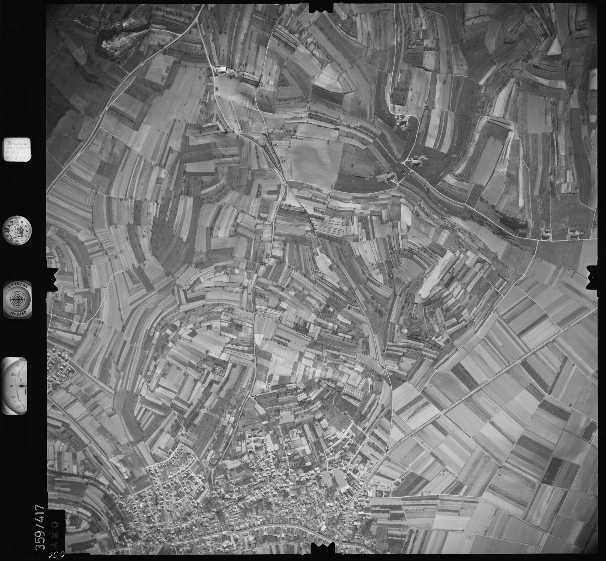 Luftbild: Film 36 Bildnr. 50, Bild 1