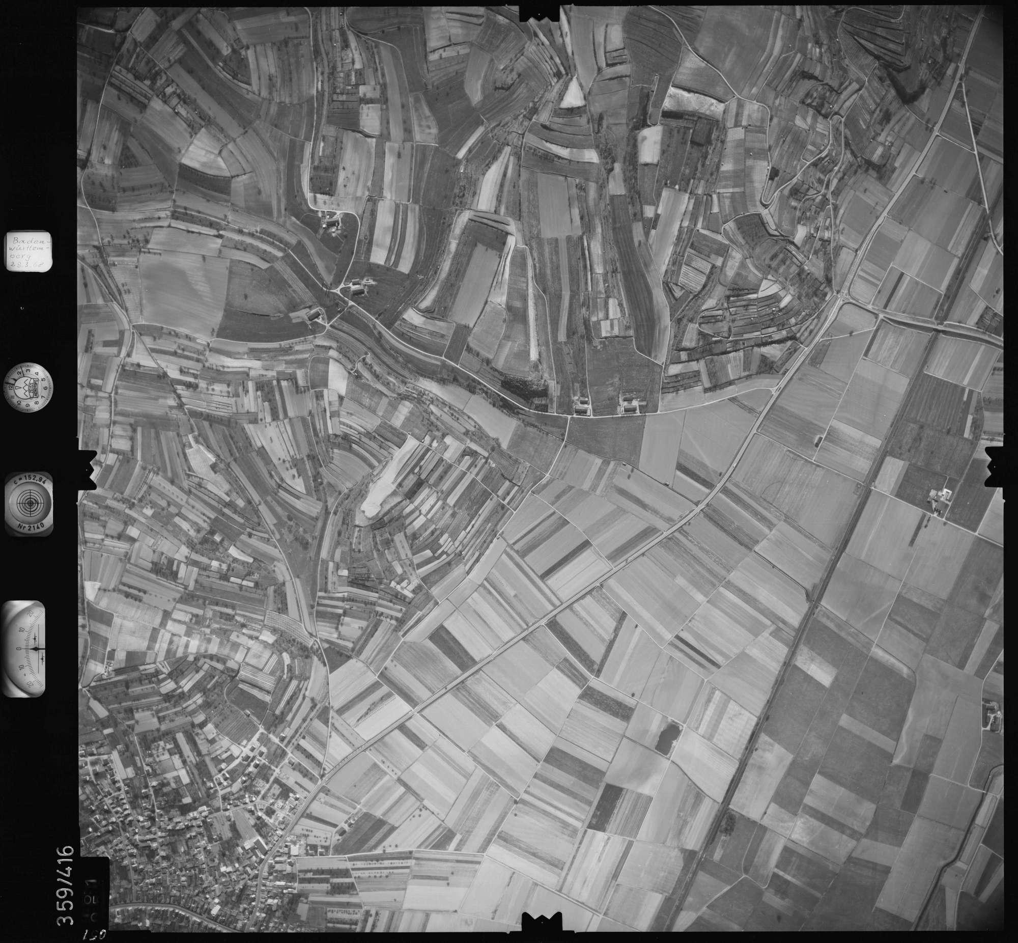 Luftbild: Film 36 Bildnr. 51, Bild 1