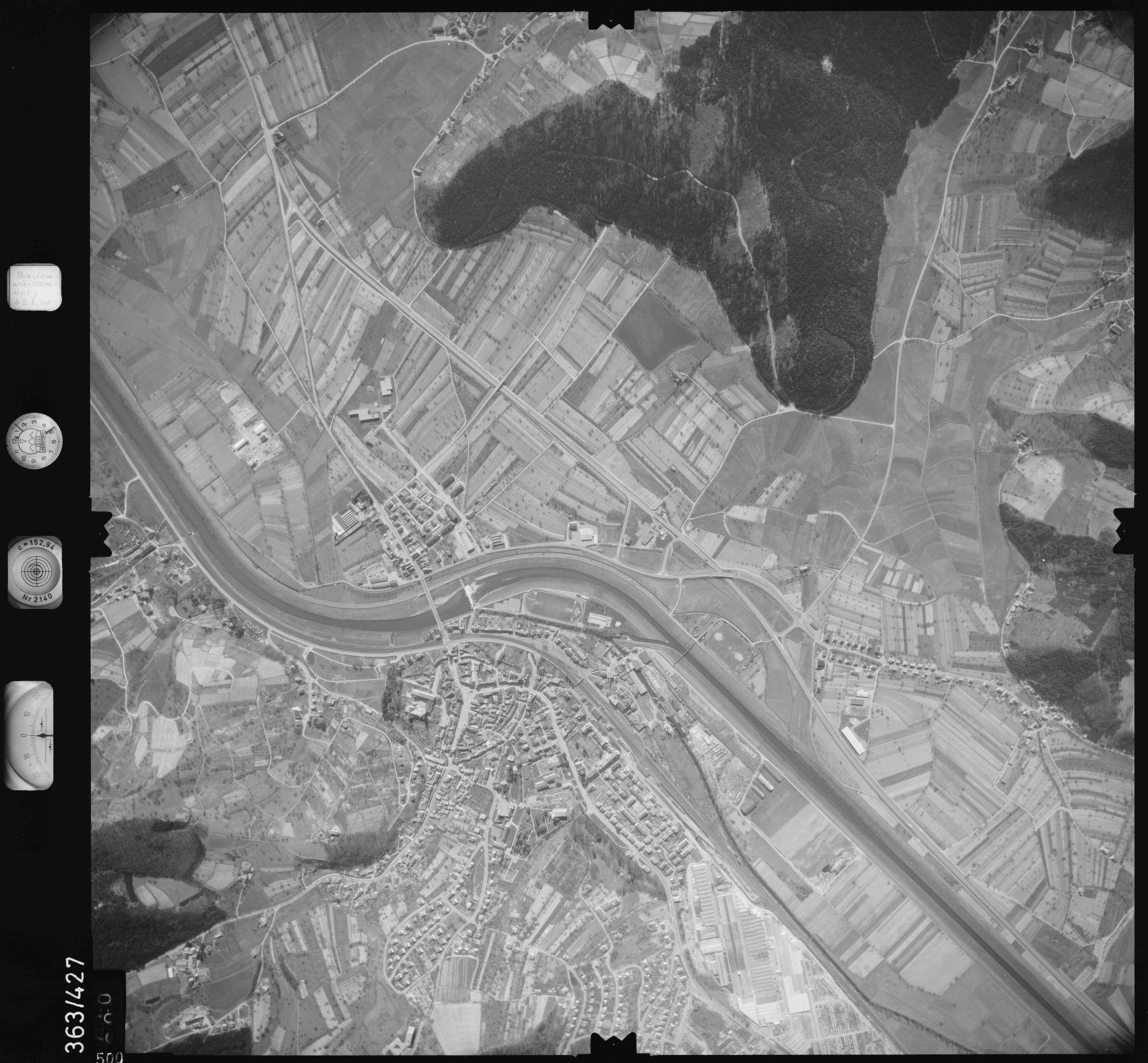 Luftbild: Film 28 Bildnr. 500, Bild 1