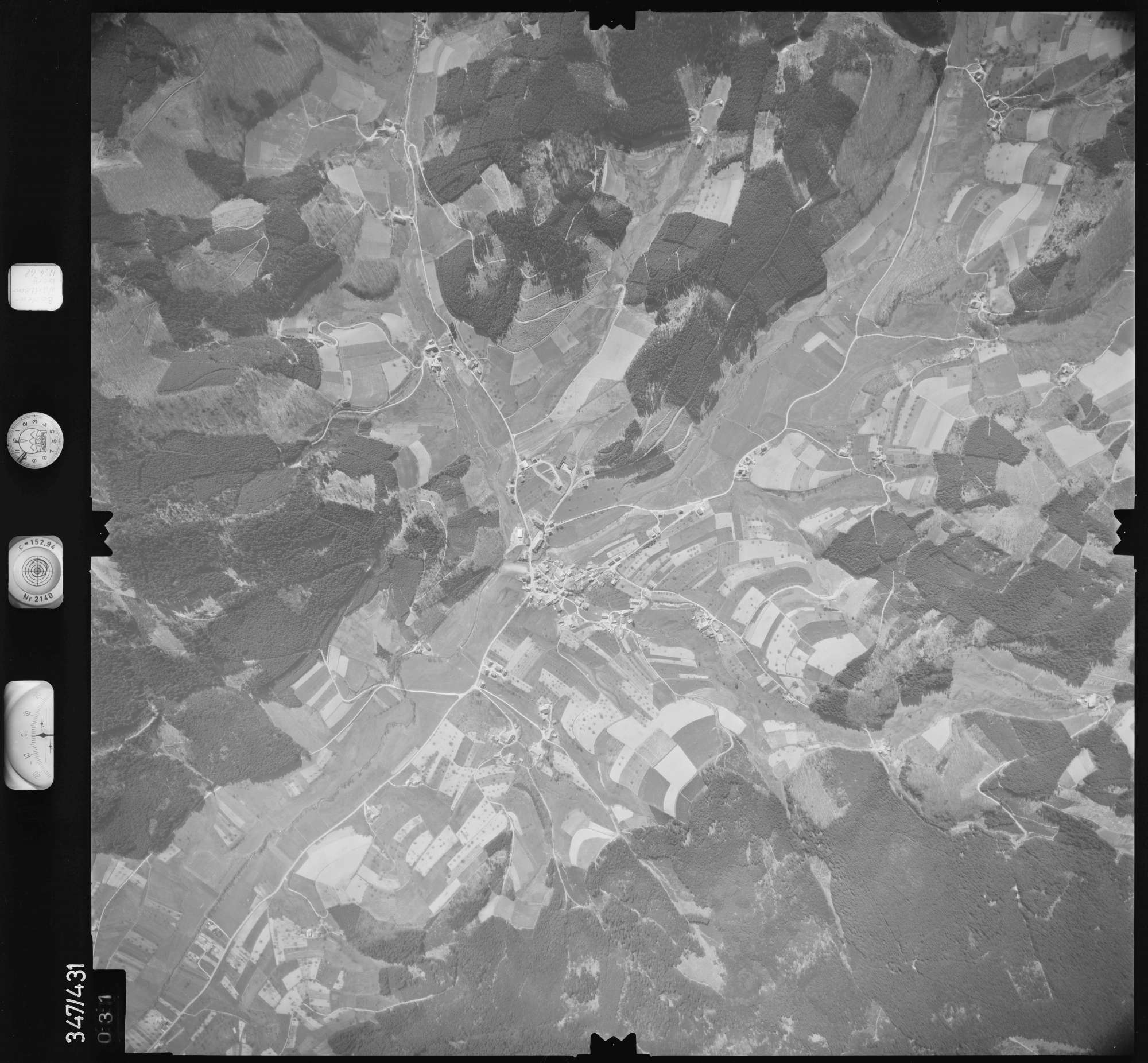 Luftbild: Film 37 Bildnr. 31, Bild 1