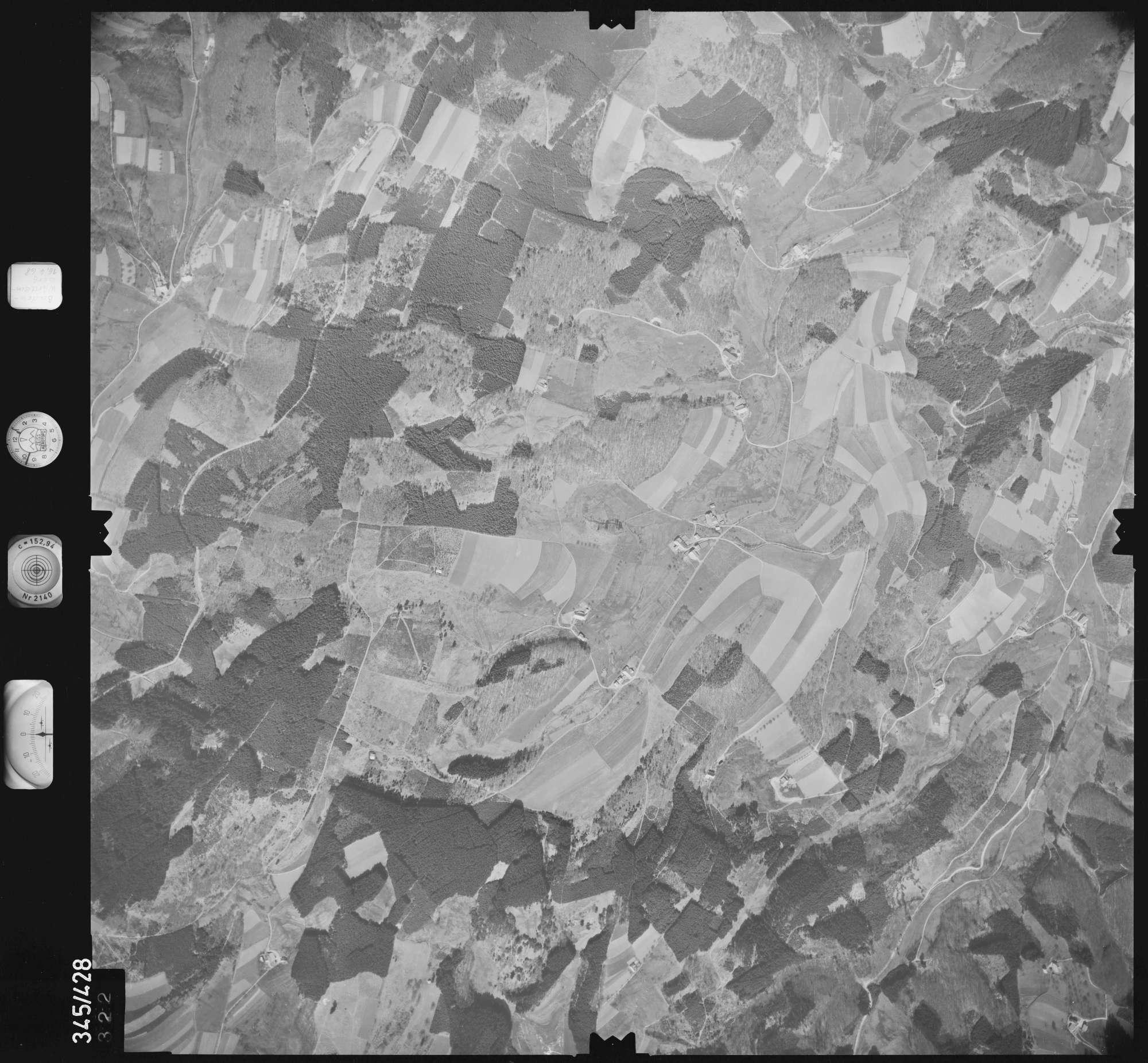 Luftbild: Film 89 Bildnr. 322, Bild 1
