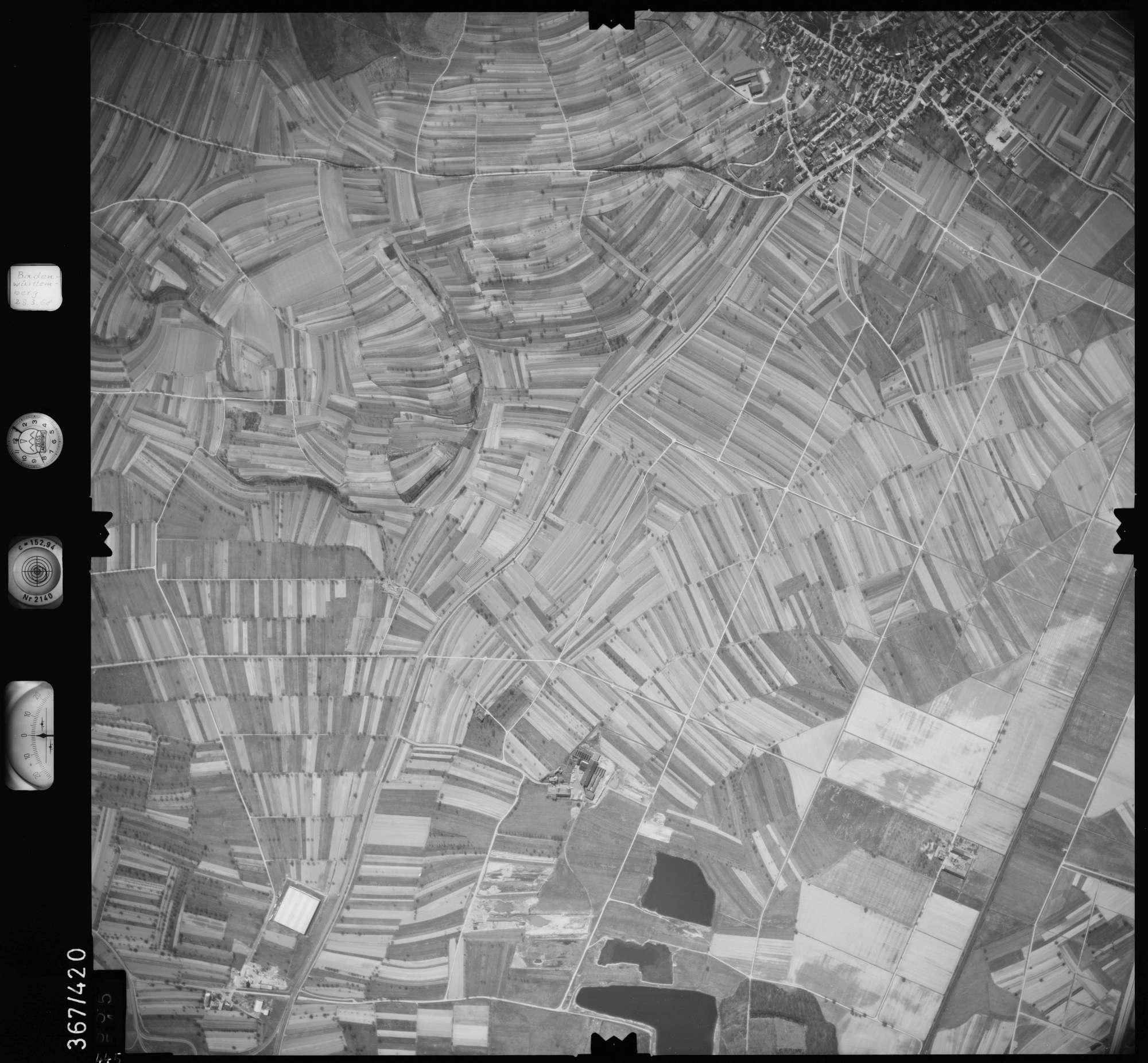 Luftbild: Film 28 Bildnr. 445, Bild 1