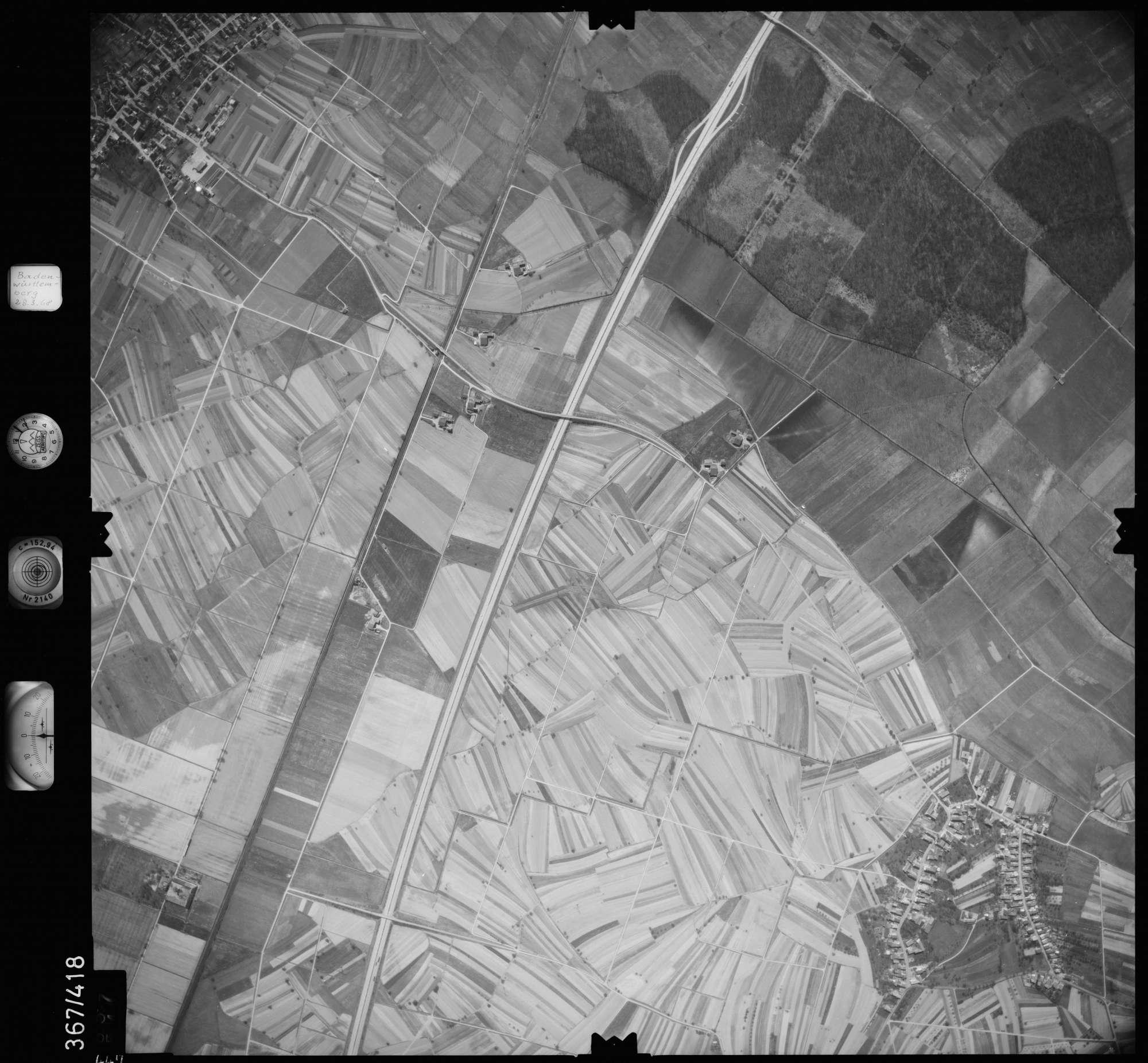 Luftbild: Film 28 Bildnr. 447, Bild 1