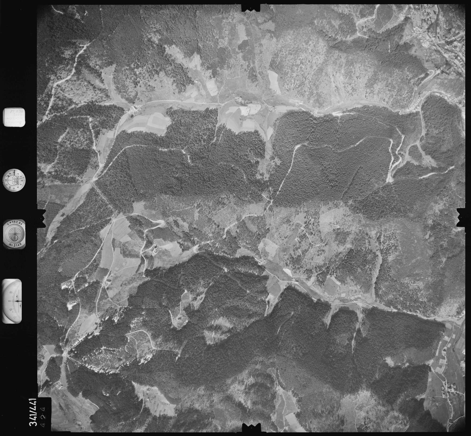 Luftbild: Film 89 Bildnr. 424, Bild 1