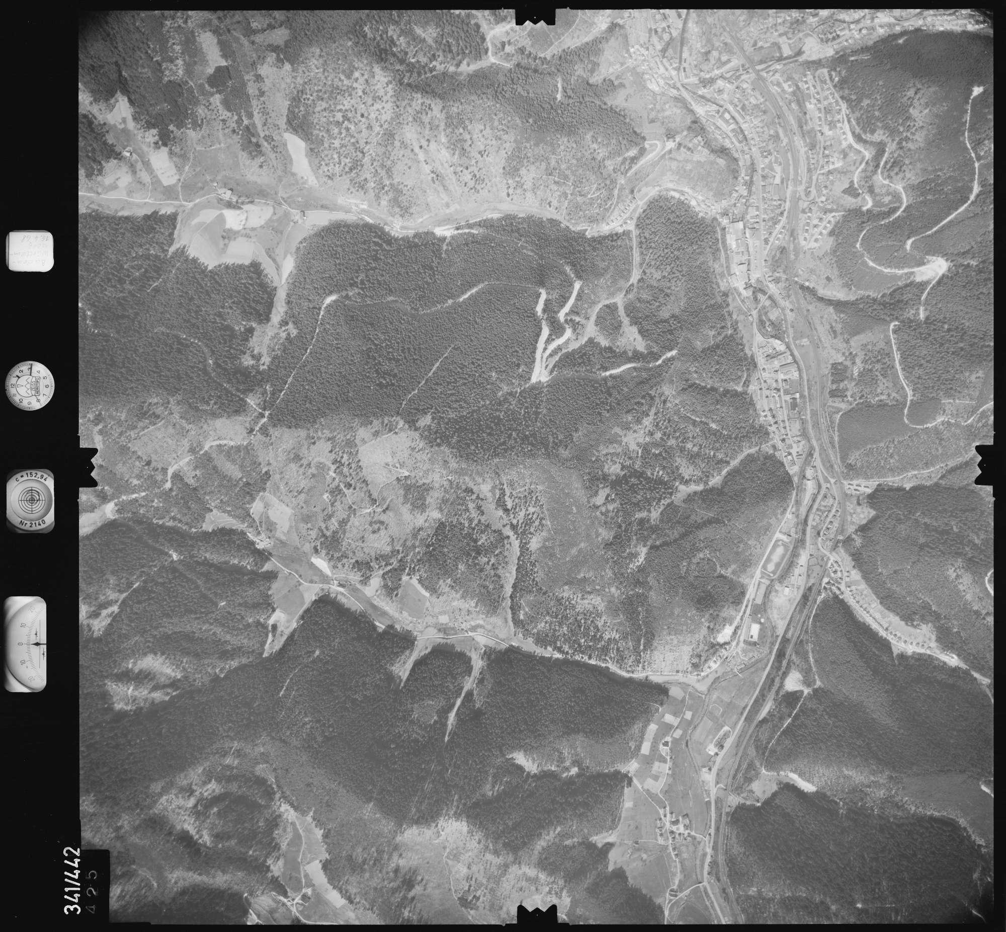 Luftbild: Film 89 Bildnr. 425, Bild 1