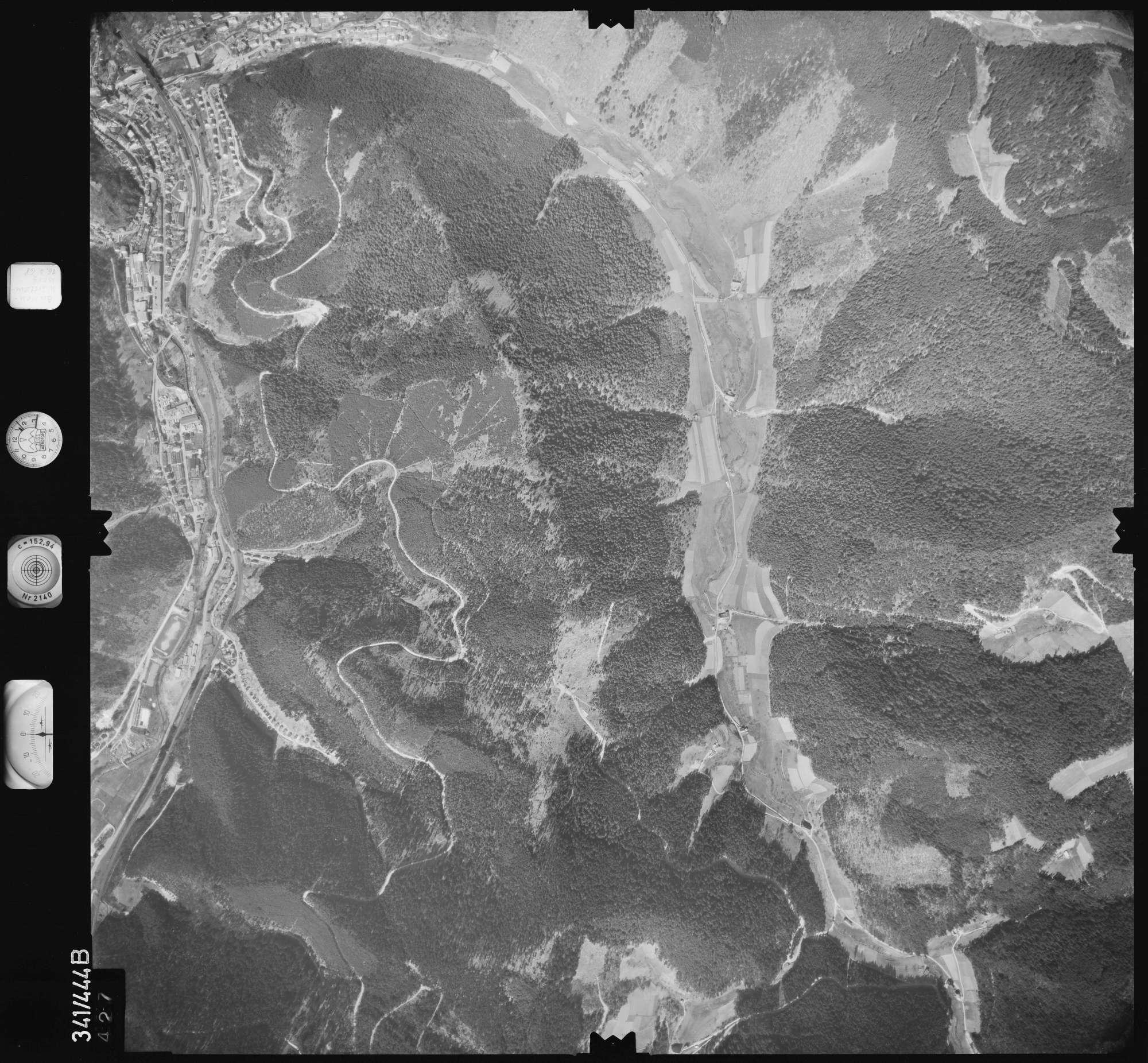 Luftbild: Film 89 Bildnr. 427, Bild 1