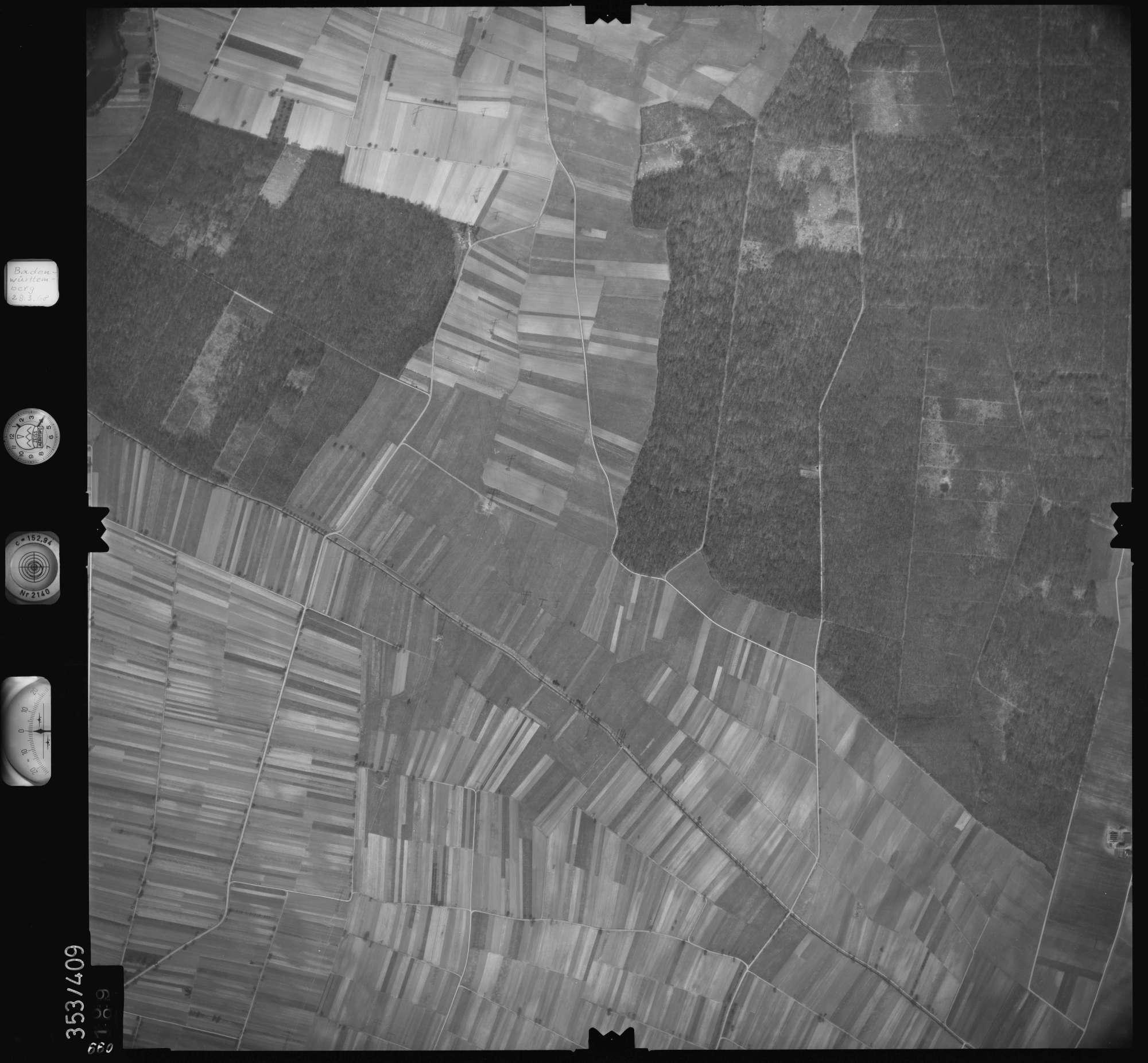 Luftbild: Film 36 Bildnr. 99, Bild 1