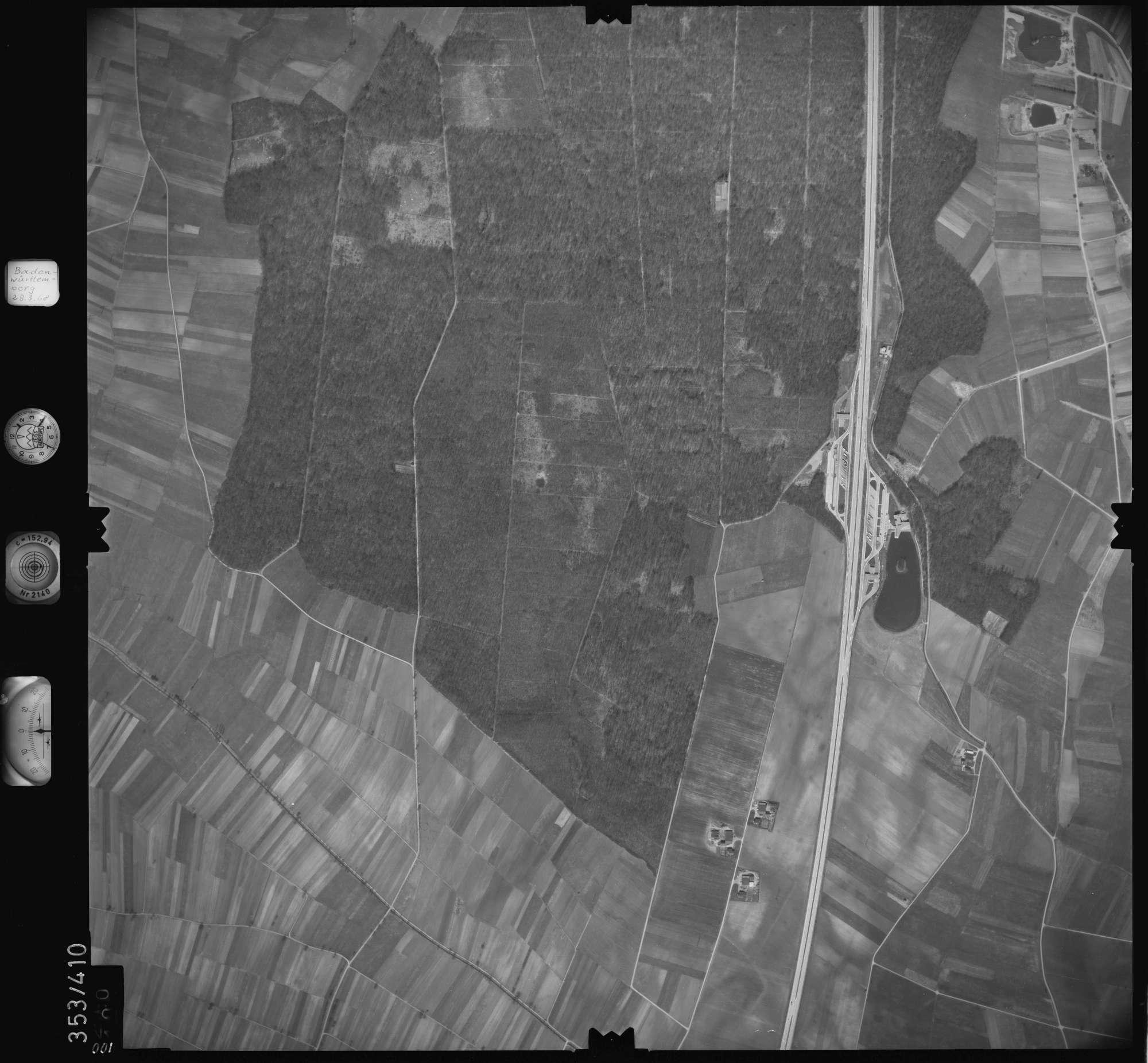 Luftbild: Film 36 Bildnr. 100, Bild 1