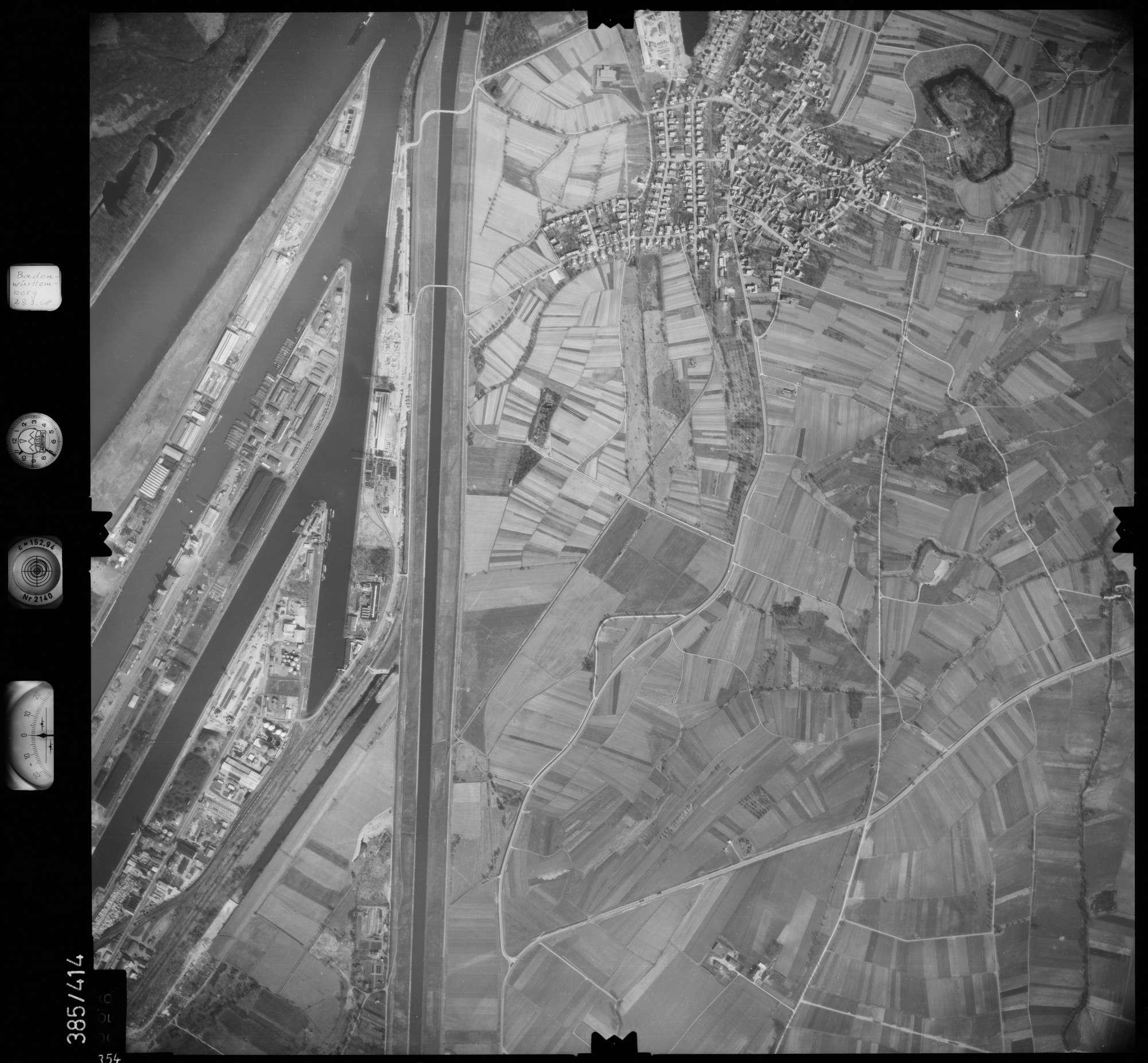 Luftbild: Film 24 Bildnr. 354, Bild 1