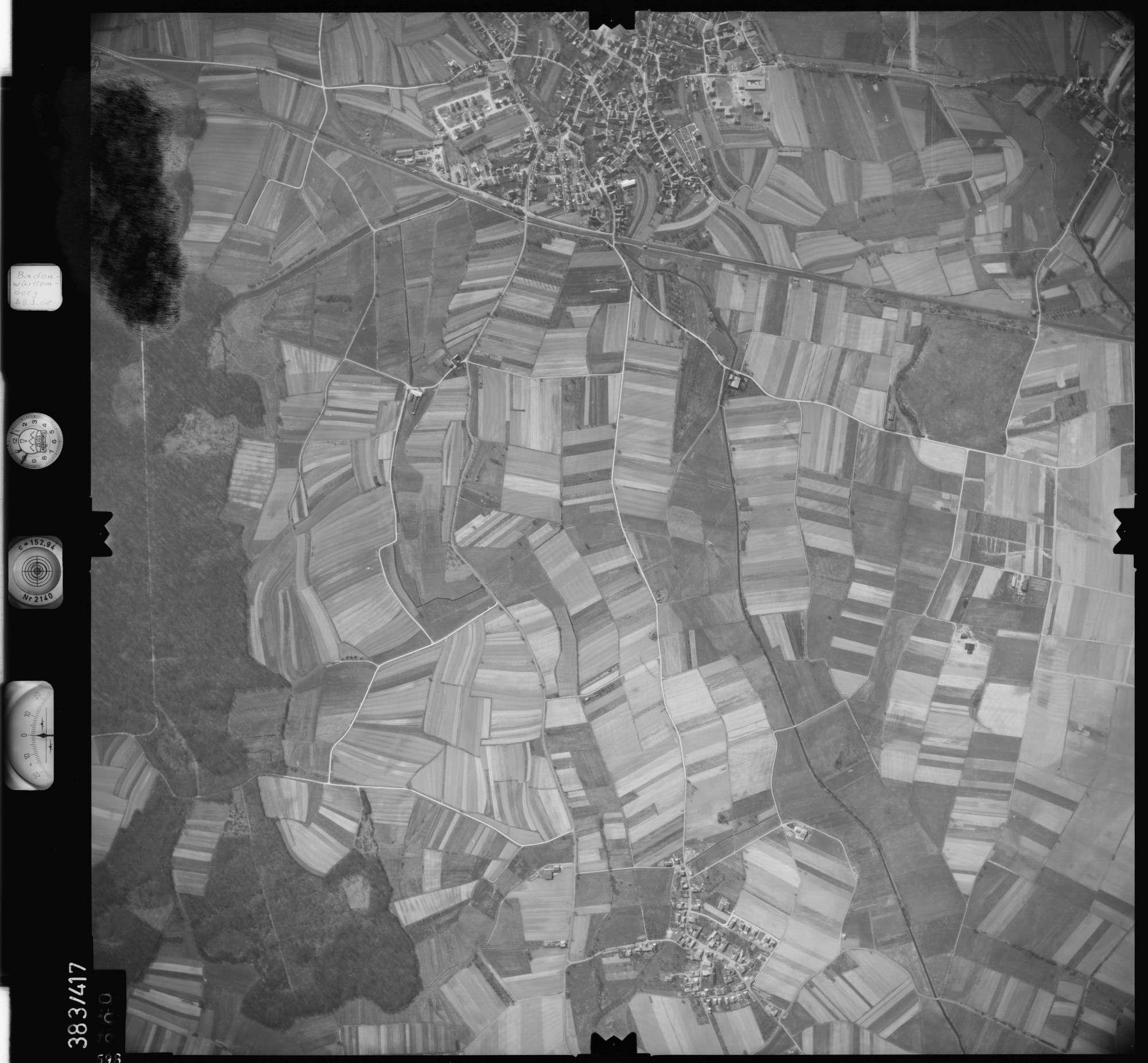 Luftbild: Film 24 Bildnr. 598, Bild 1